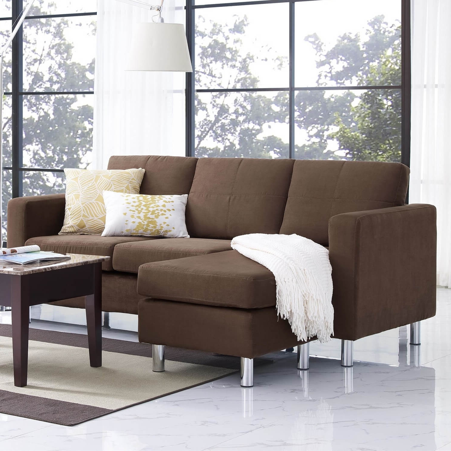 Most Current Sectional Sofas Under 500 Inside 40 Cheap Sectional Sofas Under $500 For  (View 3 of 15)