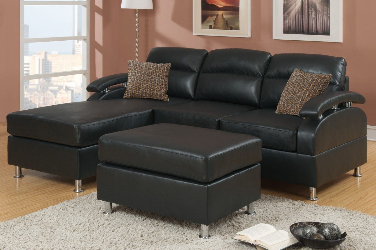 Most Current Sofas With Ottoman With Regard To Red Fabric Sectional Sofa And Ottoman Steal A Furniture Inside (View 4 of 15)