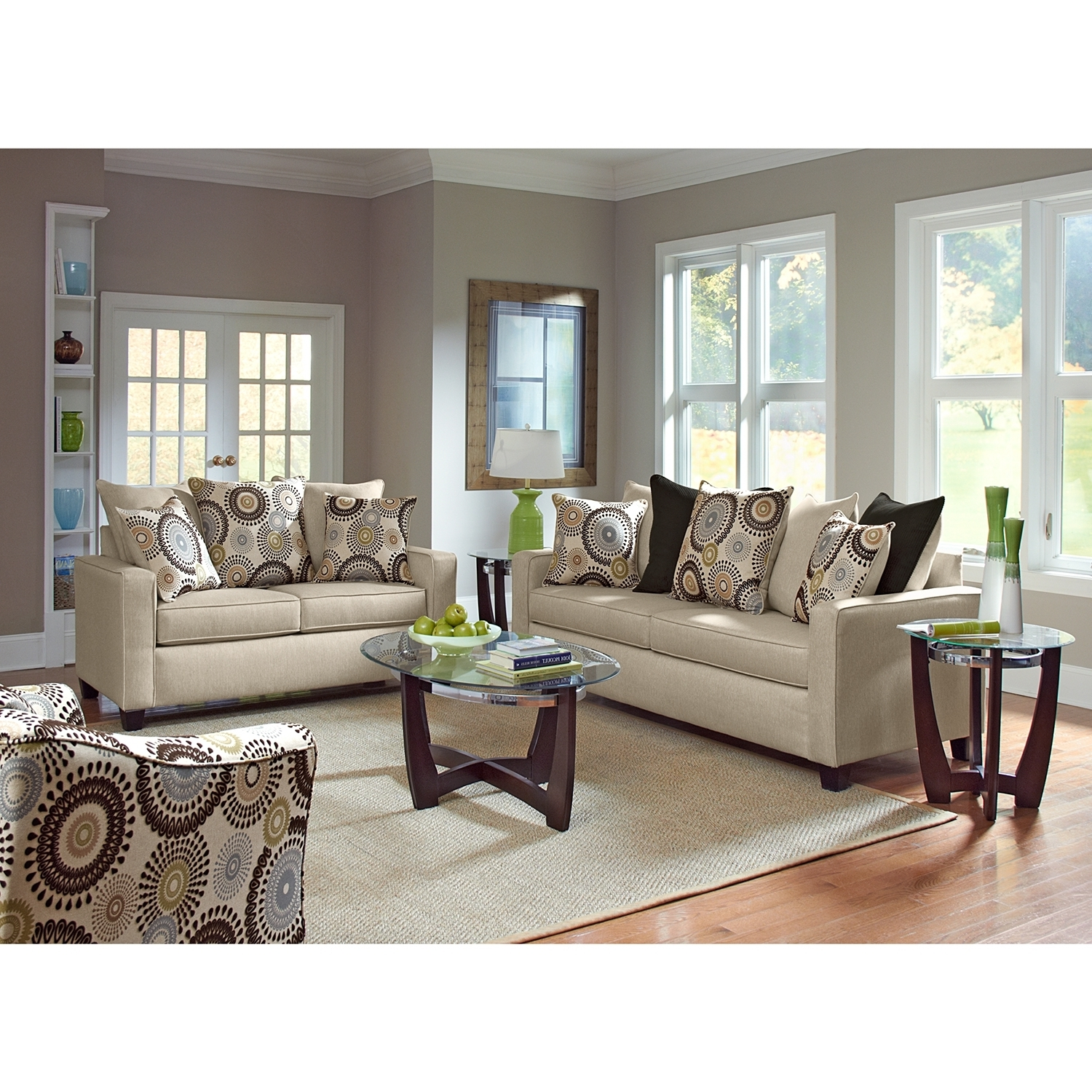 Most Current Value City Sofas For Livingroom : Value City Furniture Living Room Chairs Tables Sofas (View 4 of 15)