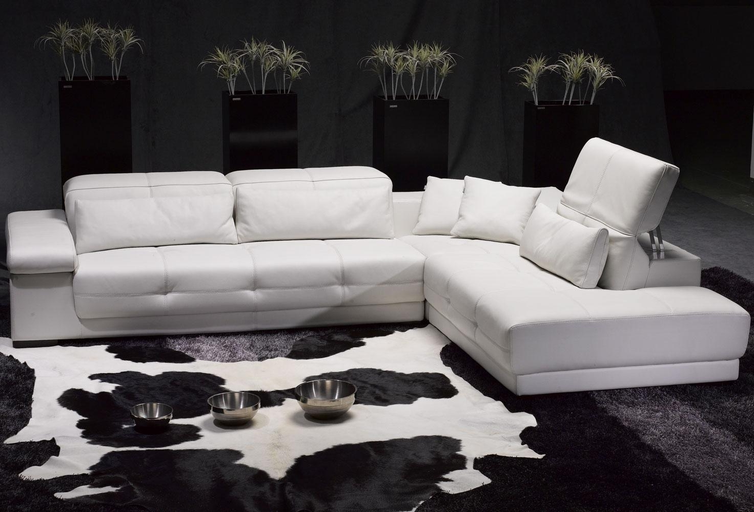 Most Popular Alluring White Leather Sectional Sofa Ideas For Living Room Throughout High End Leather Sectional Sofas (View 10 of 15)