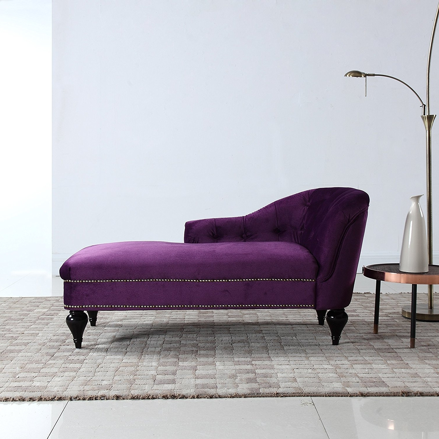 Most Popular Amazon: Modern And Elegant Kid's Velvet Chaise Lounge For Throughout Velvet Chaise Lounges (View 4 of 15)