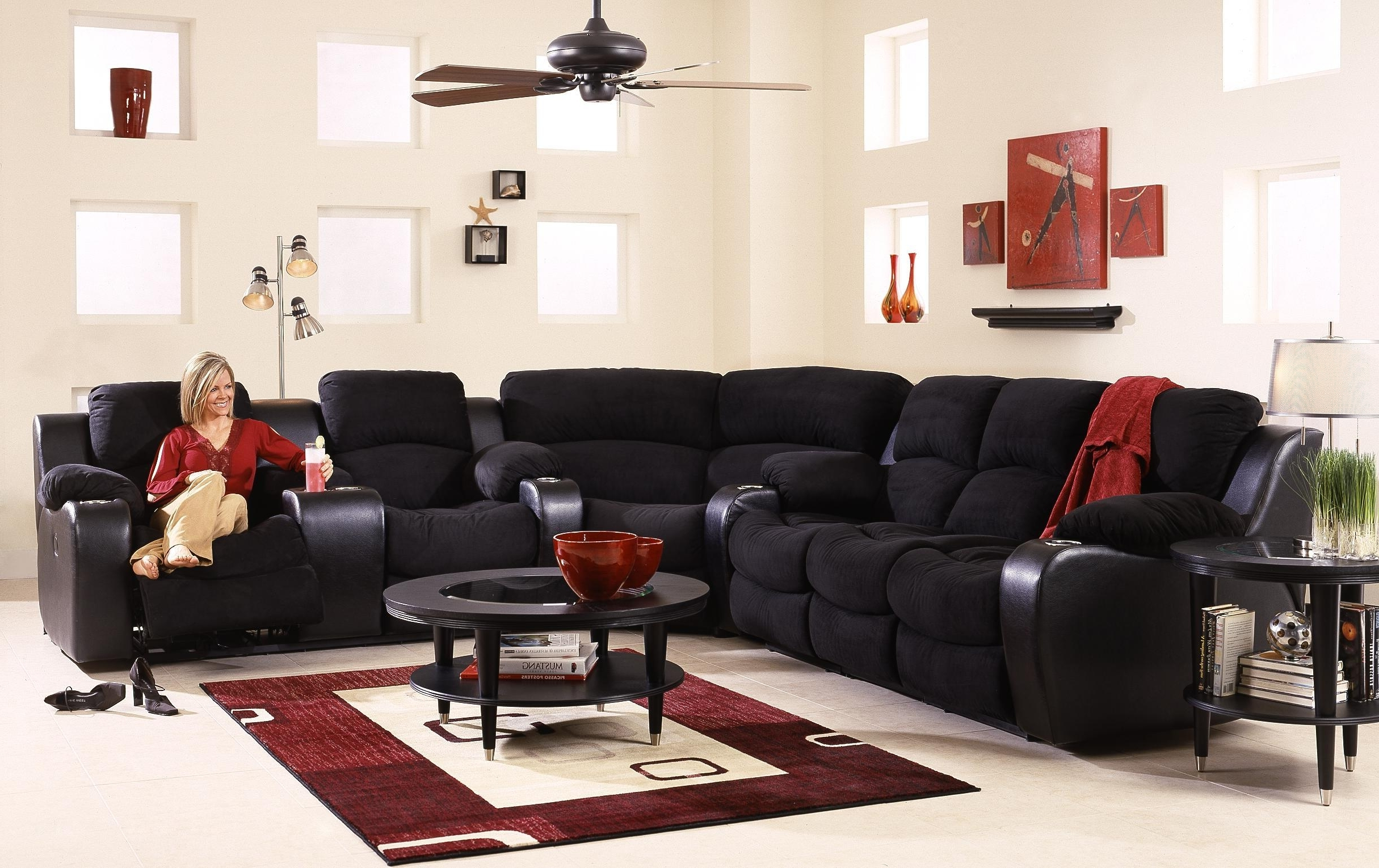 Most Popular Awesome Sectional Sofas With Cup Holders Unique – Tatsuyoru For Grand Furniture Sectional Sofas (View 12 of 15)