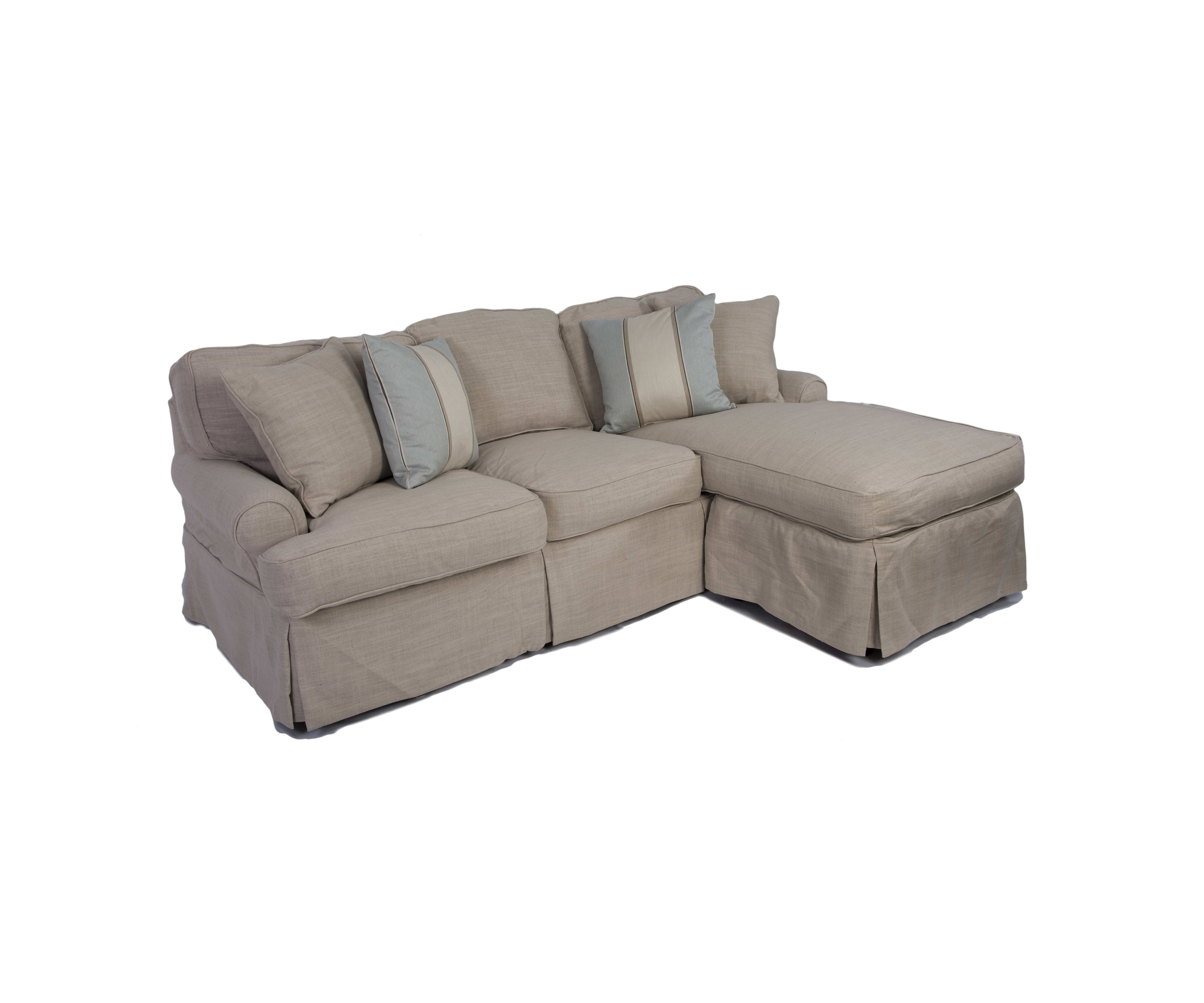 Most Popular Awesome Slipcover Sleeper Sofa Fantastic Home Design Ideas With With Sleeper Chaise Sofas (View 13 of 15)