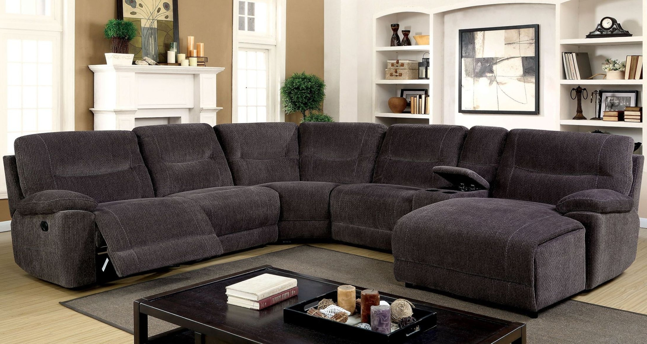 Most Popular Black Leather Sectionals With Chaise For Modular Sofa Modular Sectional Sofa Black Leather Sectional (View 9 of 15)