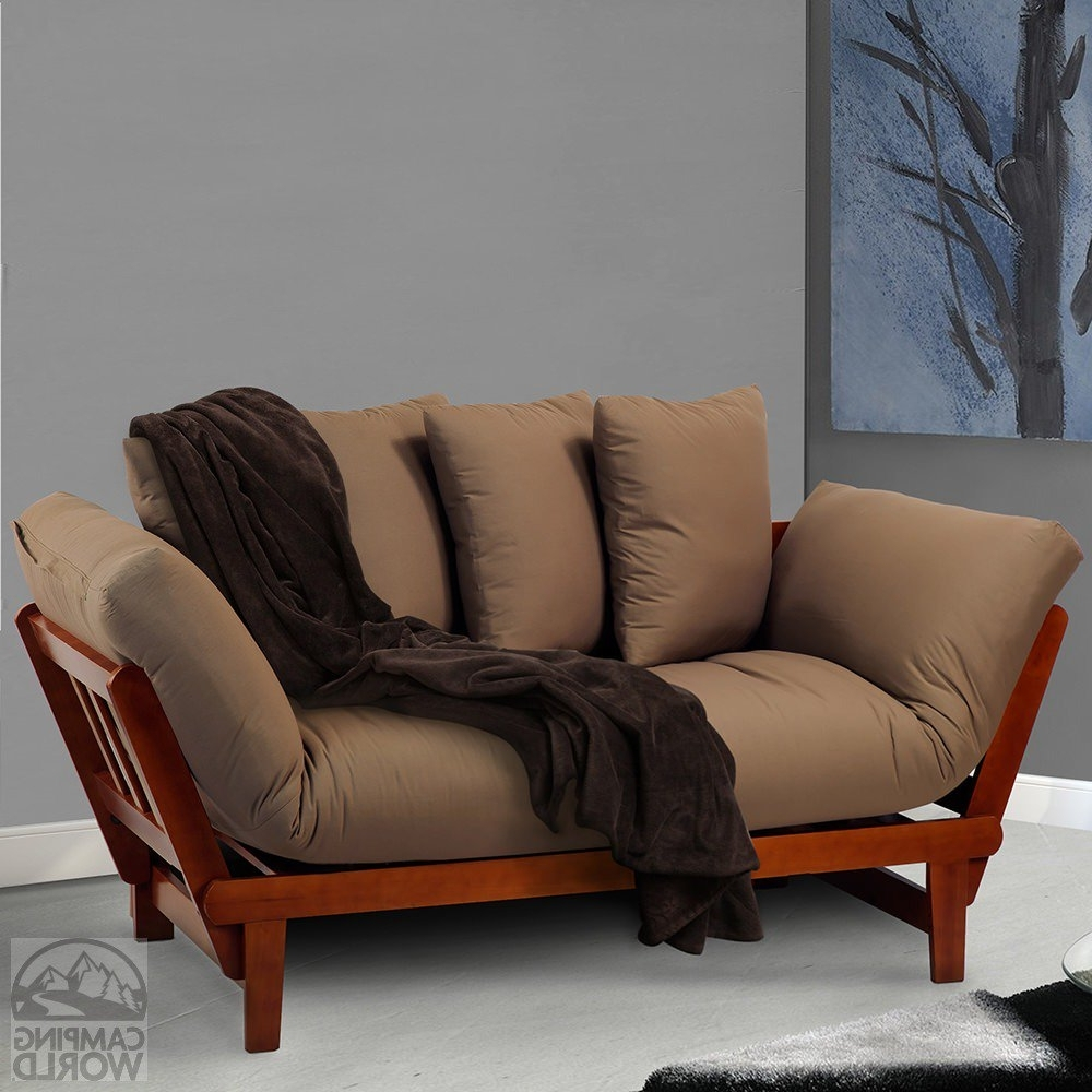 Most Popular Casual Sofas And Chairs Within Casual Lounger Sofa Bed, Oak – Yu Shan Co Usa Ltd 411 75 – Sofas (View 7 of 15)
