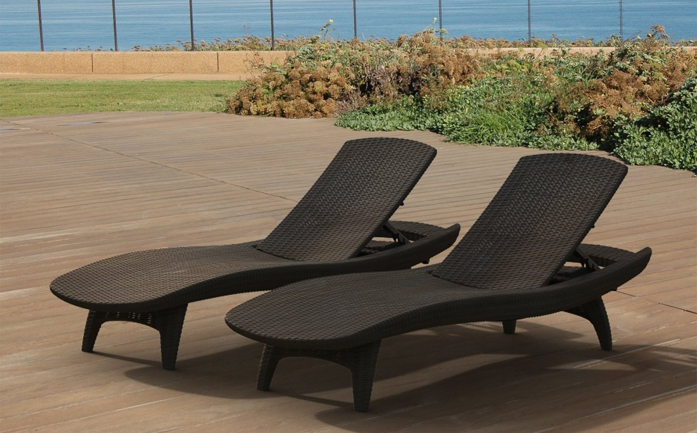 Featured Photo of Overstock Outdoor Chaise Lounge Chairs