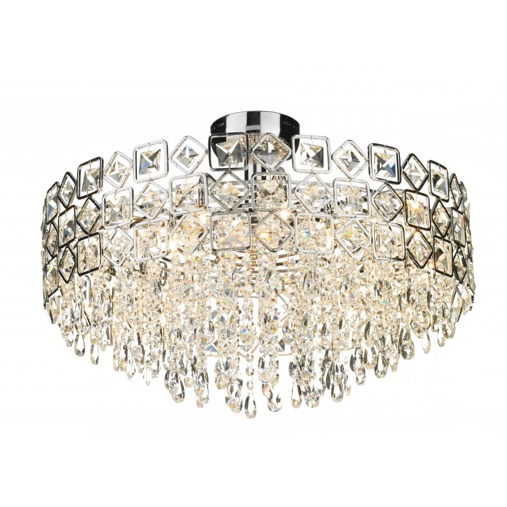 Most Popular Chandelier For Low Ceiling Within Low Ceiling Chandelier Uk – Chandelier Designs (View 5 of 15)