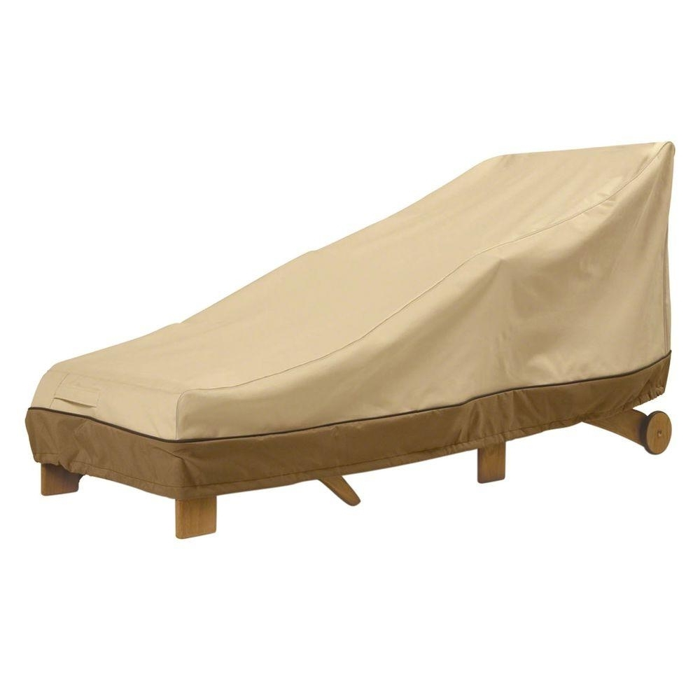 Most Popular Classic Accessories Veranda Patio Chaise Cover 78952 – The Home Depot Throughout Outdoor Chaise Lounge Covers (View 3 of 15)