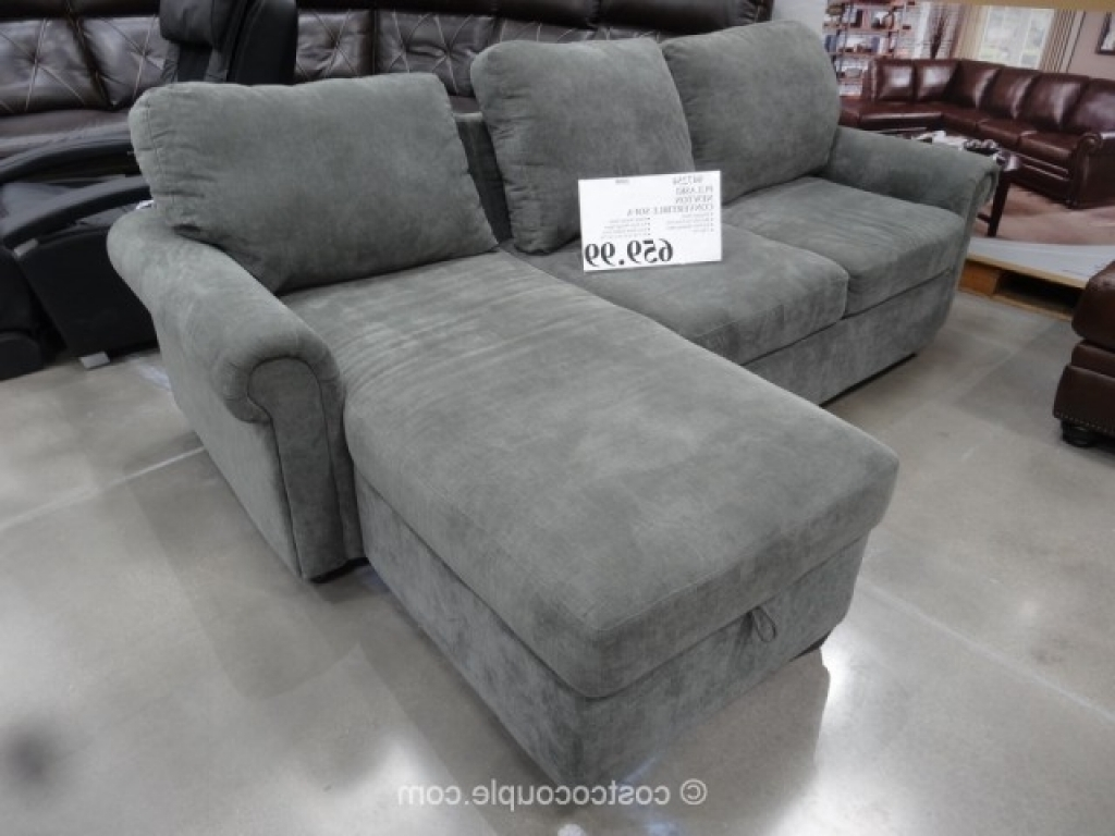 Most Popular Costco Chaises Intended For Storage Bed: Costco Sofa Bed With Storage Costco Sofa Bed With (View 10 of 15)