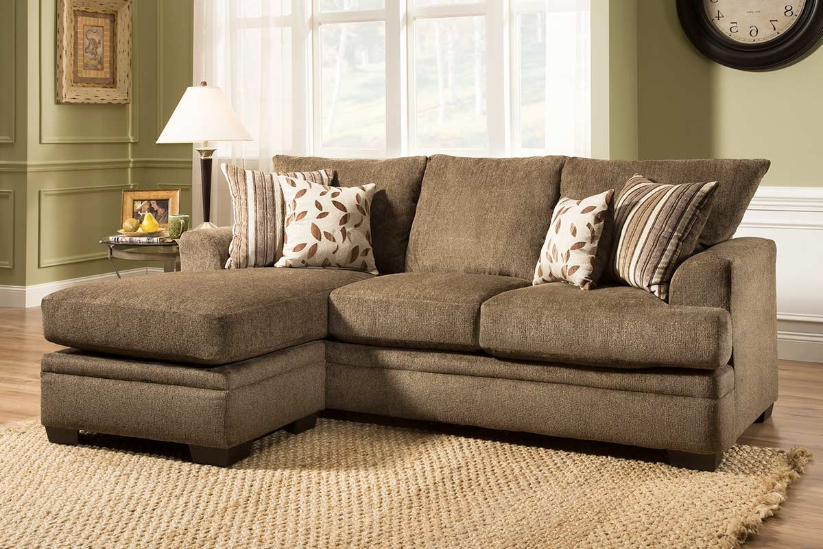 Most Popular Couches With Chaise Pertaining To Cornell Cocoa Sofa Chaise – The Furniture Shack (View 8 of 15)