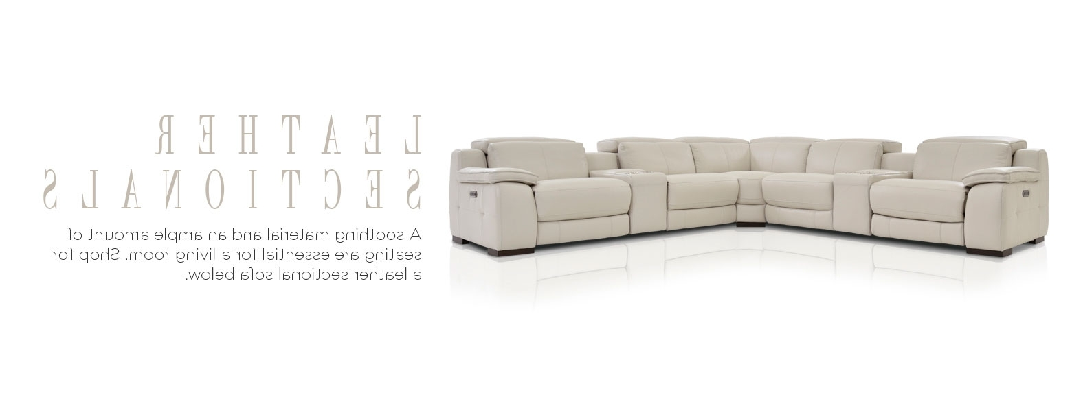 Most Popular El Dorado Sectional Sofas With Leather Furniture – Leather Sectional Sofas (View 9 of 15)