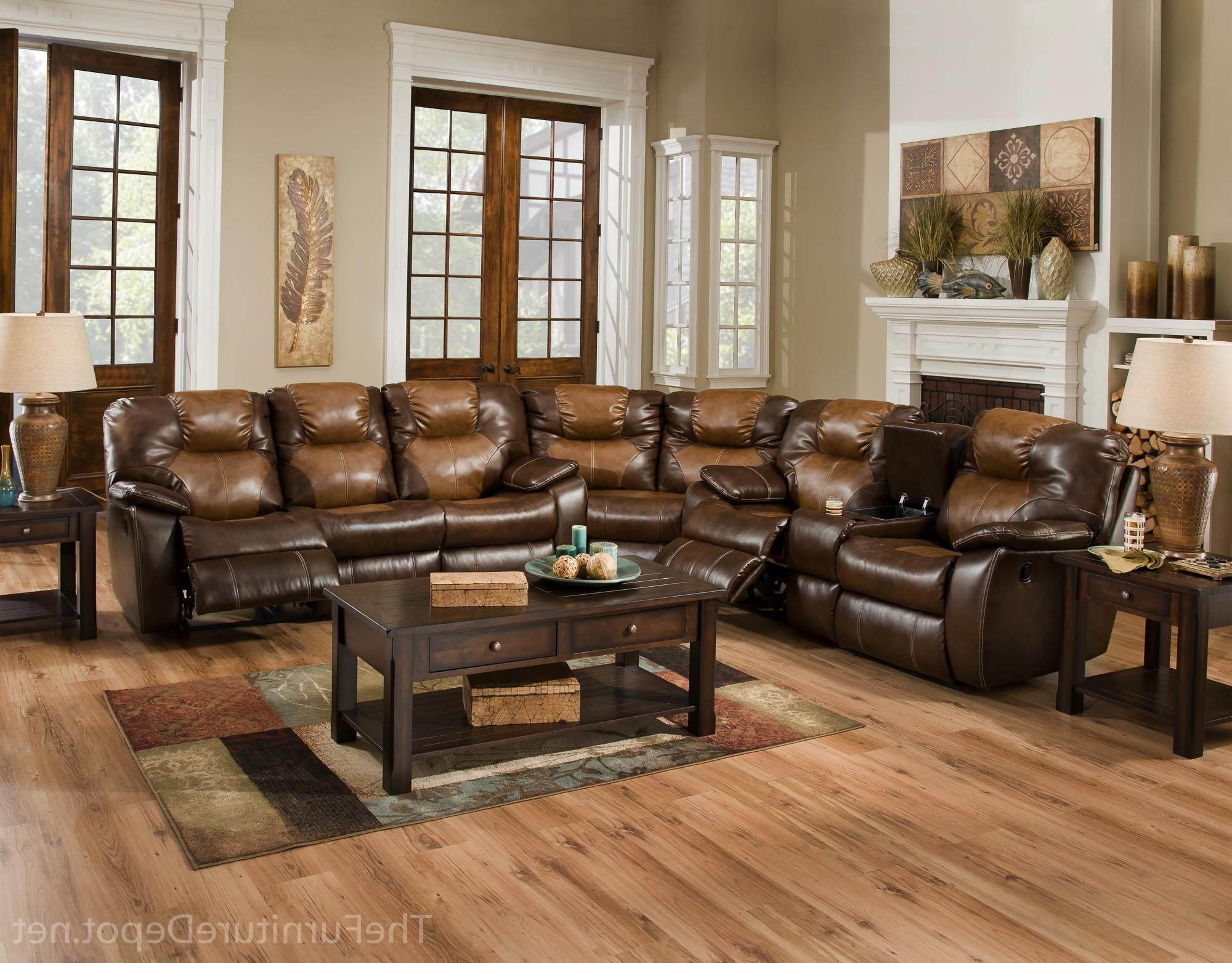 Most Popular Farmers Furniture Sectional Sofas With Regard To Avalon Three Piece Sectional Sofasouthern Motion – Furniture (View 10 of 15)