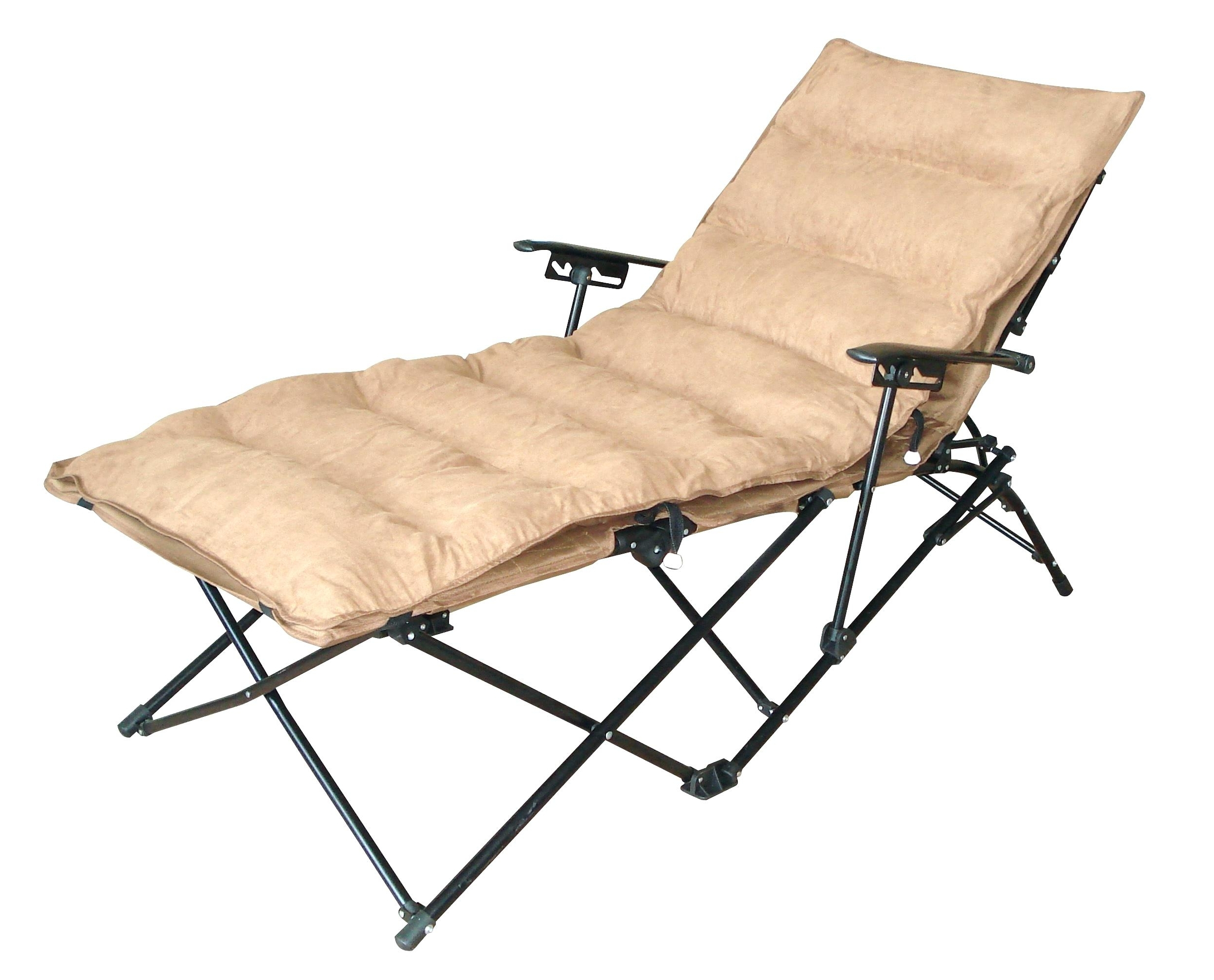 Most Popular Folding Chaise Lounge Chair With Cup Holder • Lounge Chairs Ideas Inside Maureen Outdoor Folding Chaise Lounge Chairs (View 12 of 15)