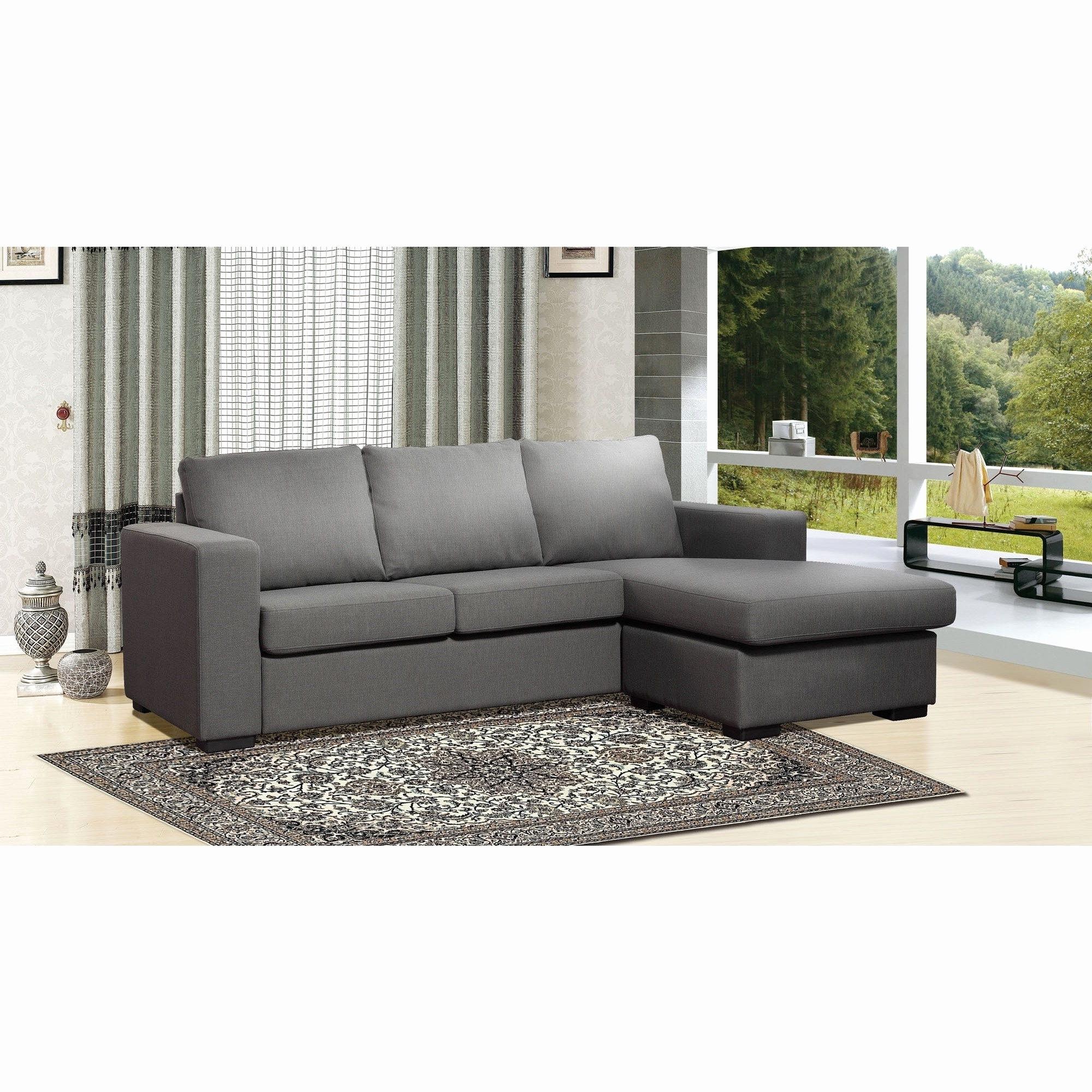 Most Popular Gray Sectional Sofas With Chaise Inside Unique Gray Sectional Sofa With Chaise 2018 – Couches Ideas (View 12 of 15)