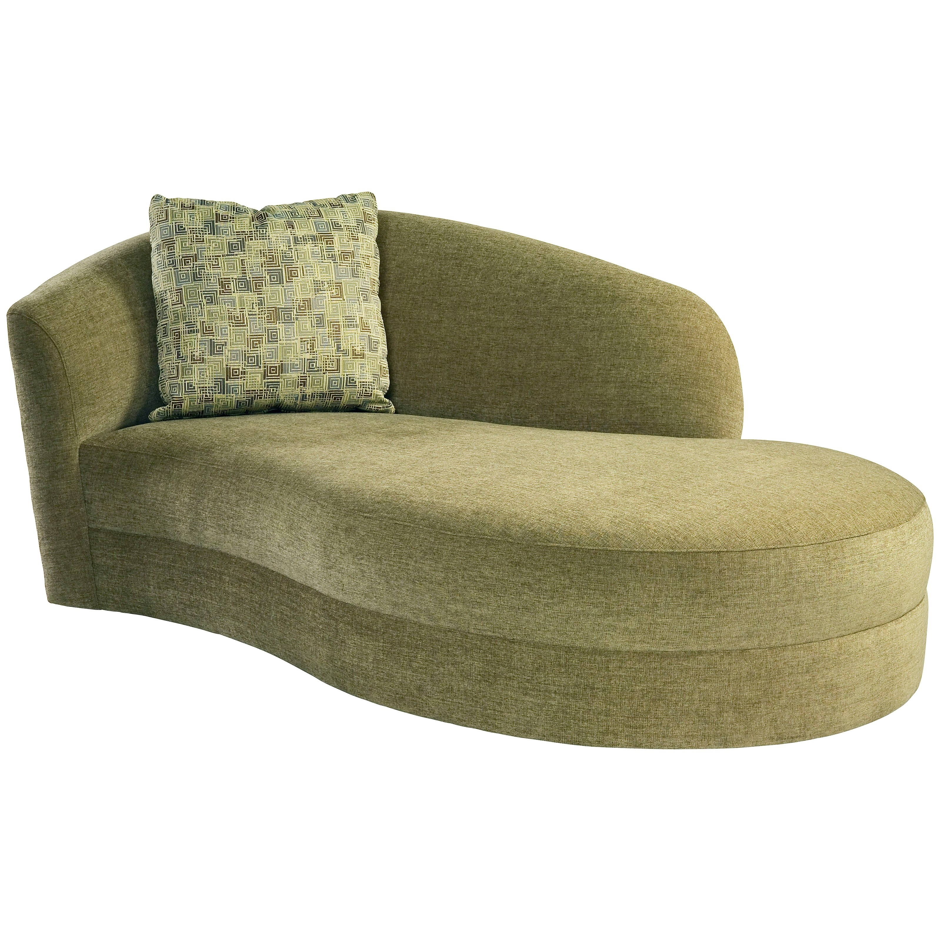 Most Popular Green Chaise Lounge Chairs Throughout Furniture (View 10 of 15)