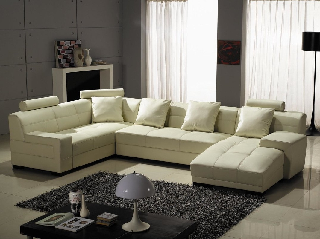 Most Popular Houston Sectional Sofas With Hokku Designs Houston Leather Sectional & Reviews (View 12 of 15)