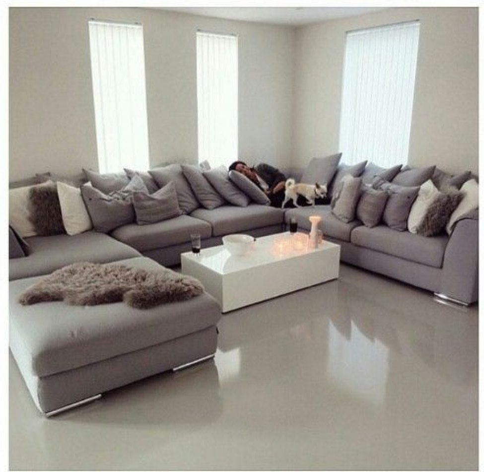 Most Popular Huge U Shaped Sectionals Regarding Sectional Sofas: Best 25 U Shaped Sofa Ideas On Pinterest (View 11 of 15)