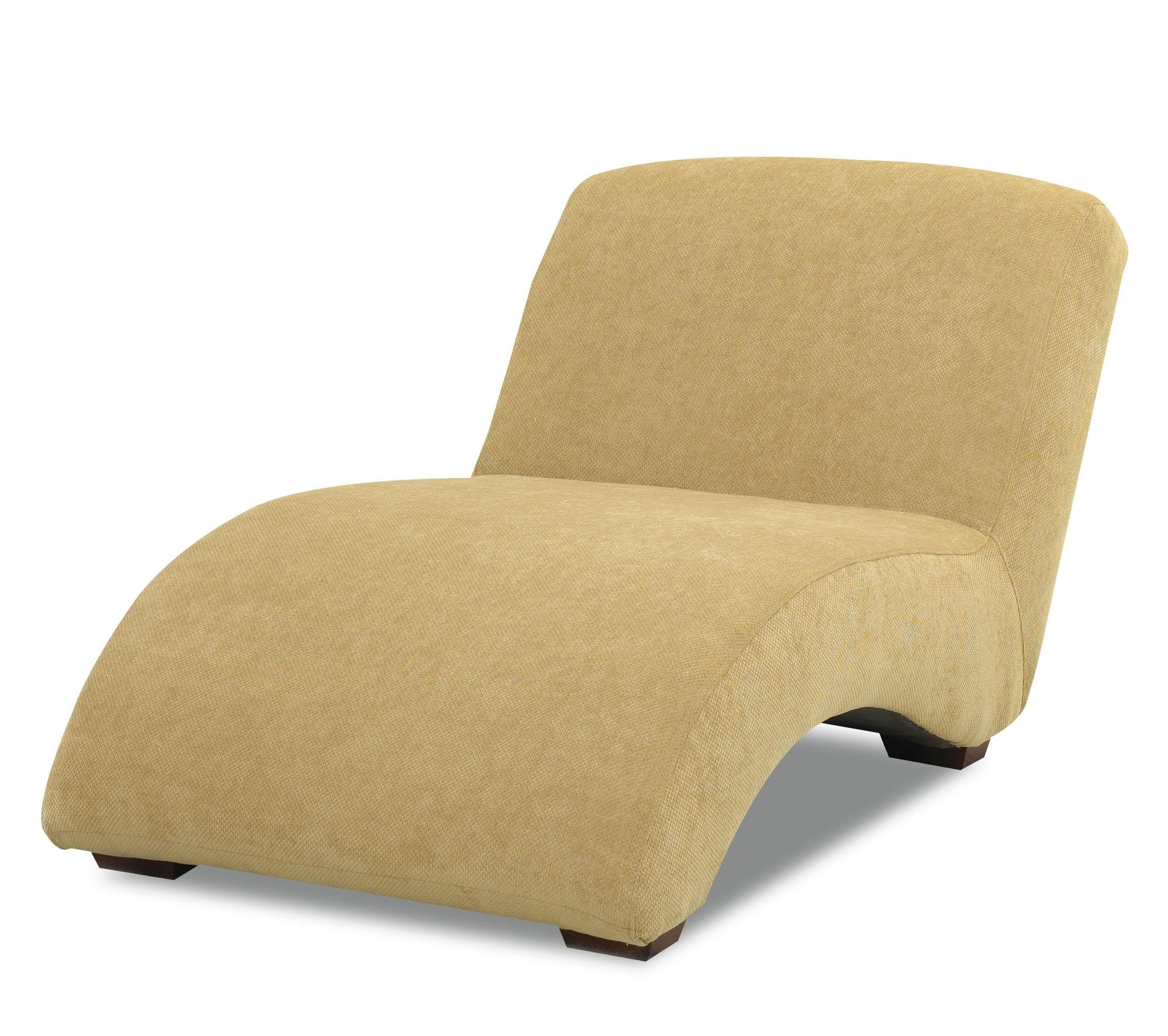 Most Popular Klaussner Chairs And Accents Oversized Celebration Armless Chaise Throughout Armless Chaise Lounges (View 12 of 15)
