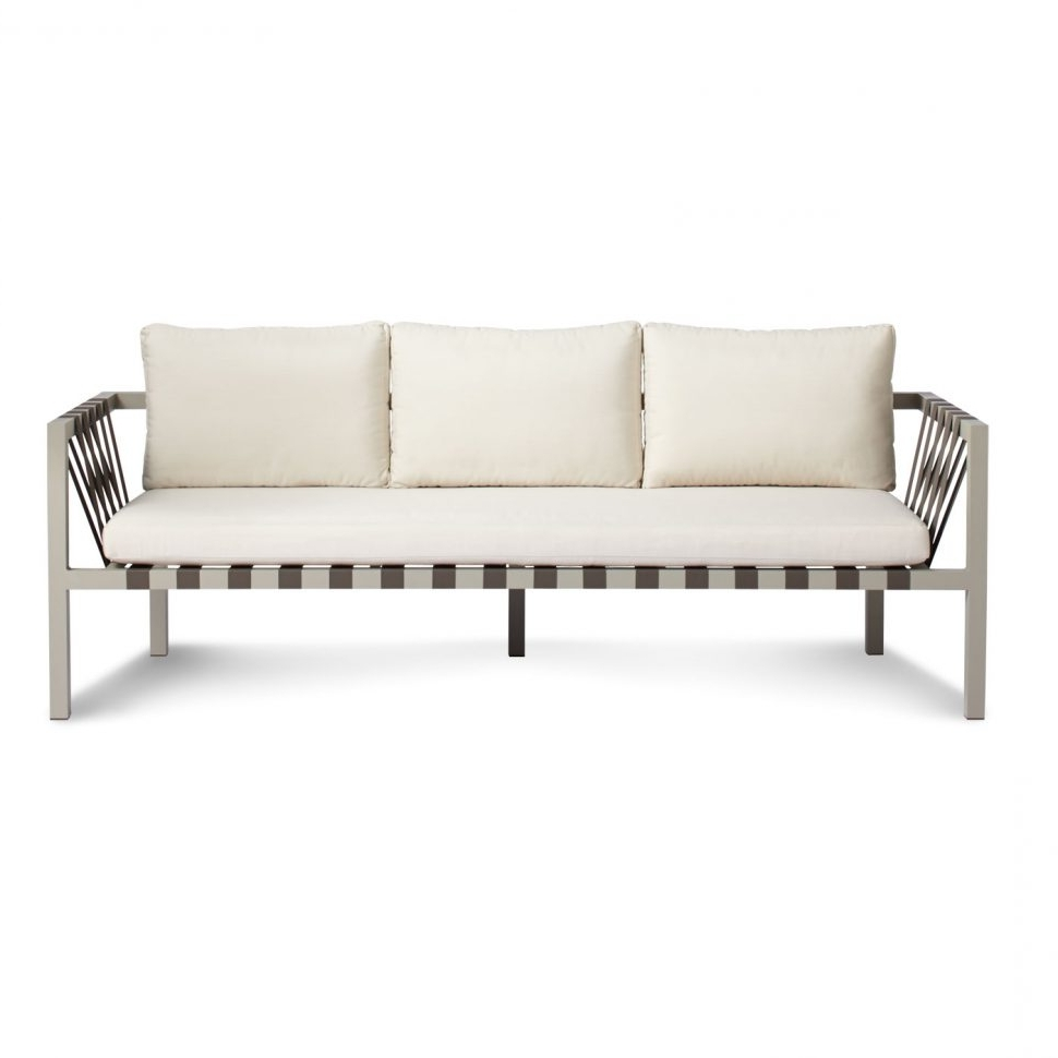 Most Popular Loveseat : Comfortable Outdoor Loveseat Outdoor Sofa Seating With Regard To Economax Sectional Sofas (View 10 of 15)