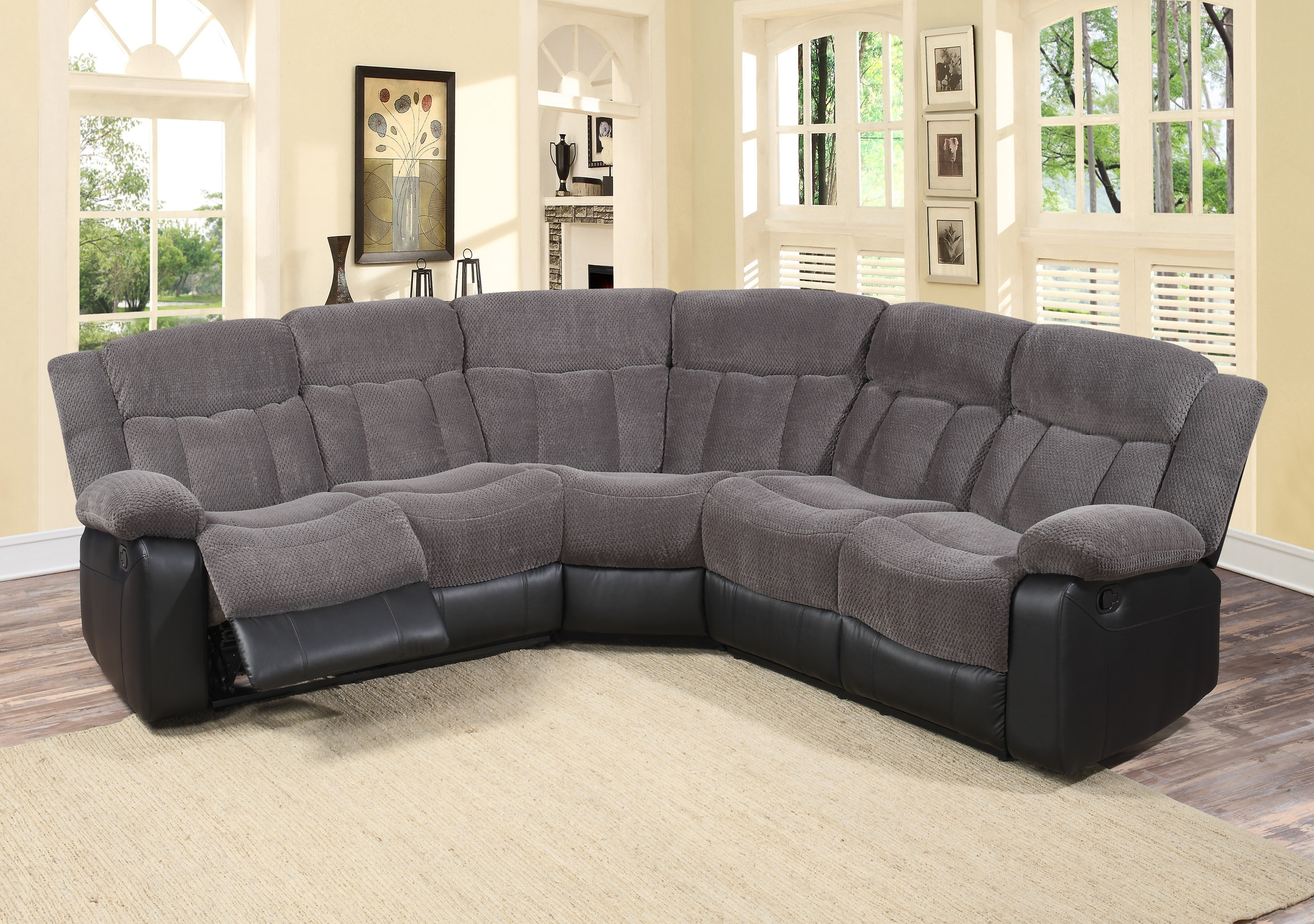 Most Popular Reclining Sectionals You'll Love (View 10 of 15)