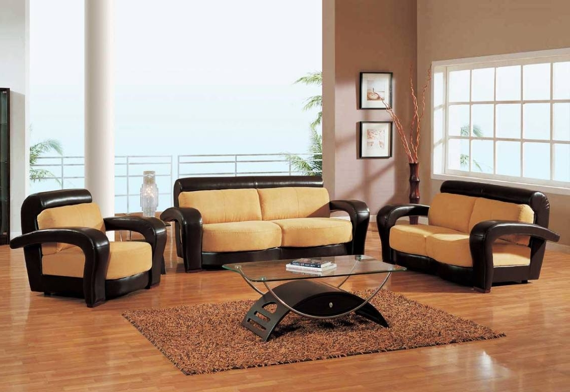 Most Popular Sofa : Living Room Sofa Sets Clearance Leather Sofa Sets Living Pertaining To Elegant Sofas And Chairs (View 12 of 15)