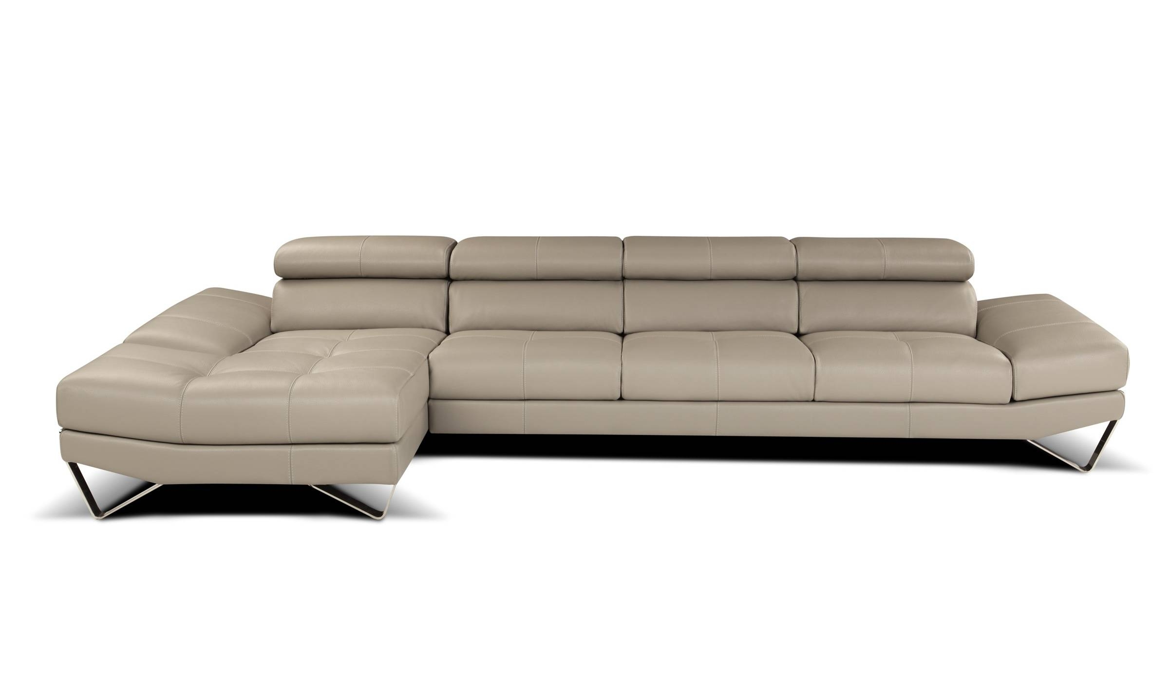 Most Popular Sophisticated All Italian Leather Sectional Sofa Spokane Pertaining To High End Leather Sectional Sofas (View 13 of 15)