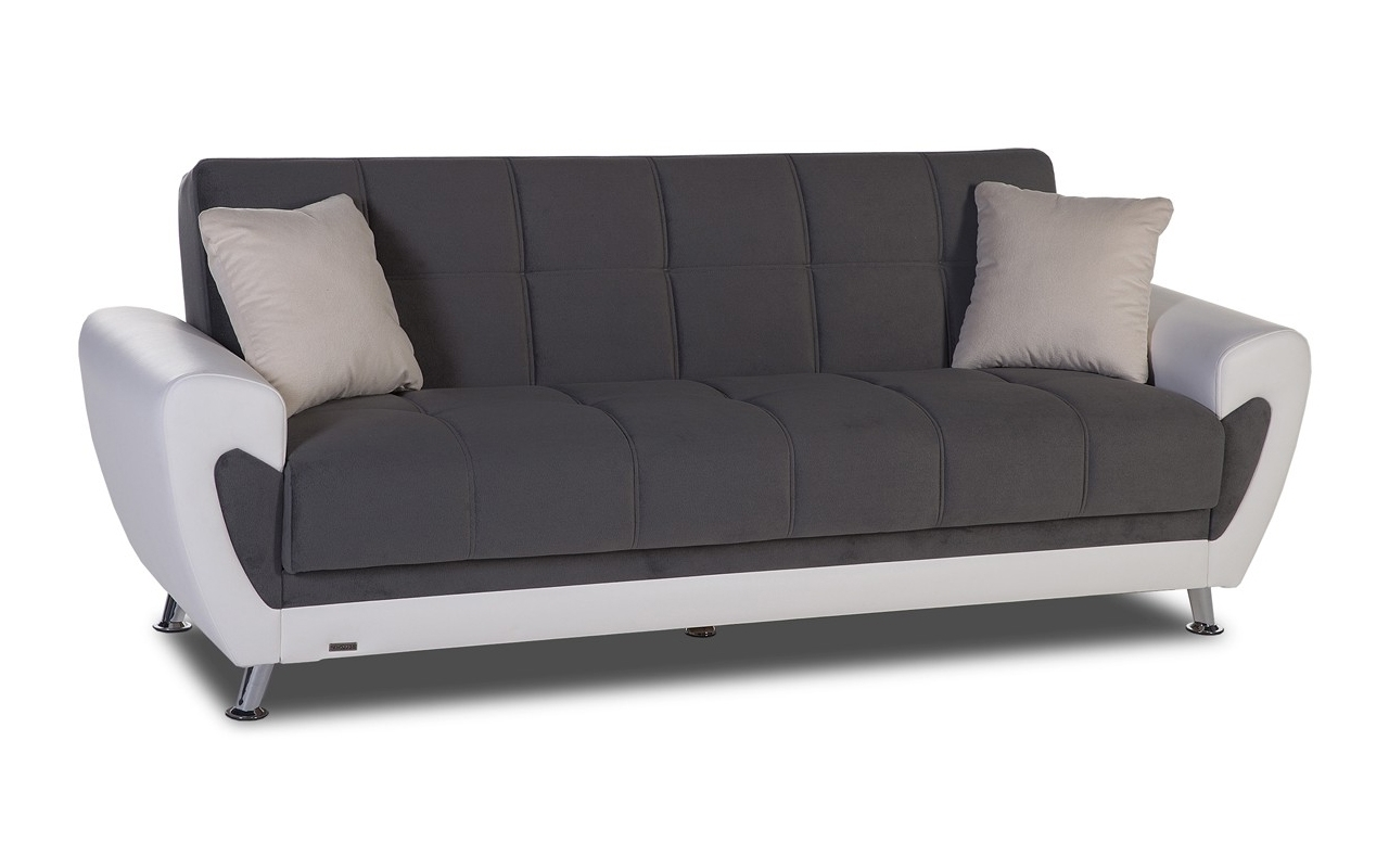 Most Popular Storage Sofas Intended For Convertible Sofas :: Duru Convertible Sofa With Storage (View 15 of 15)