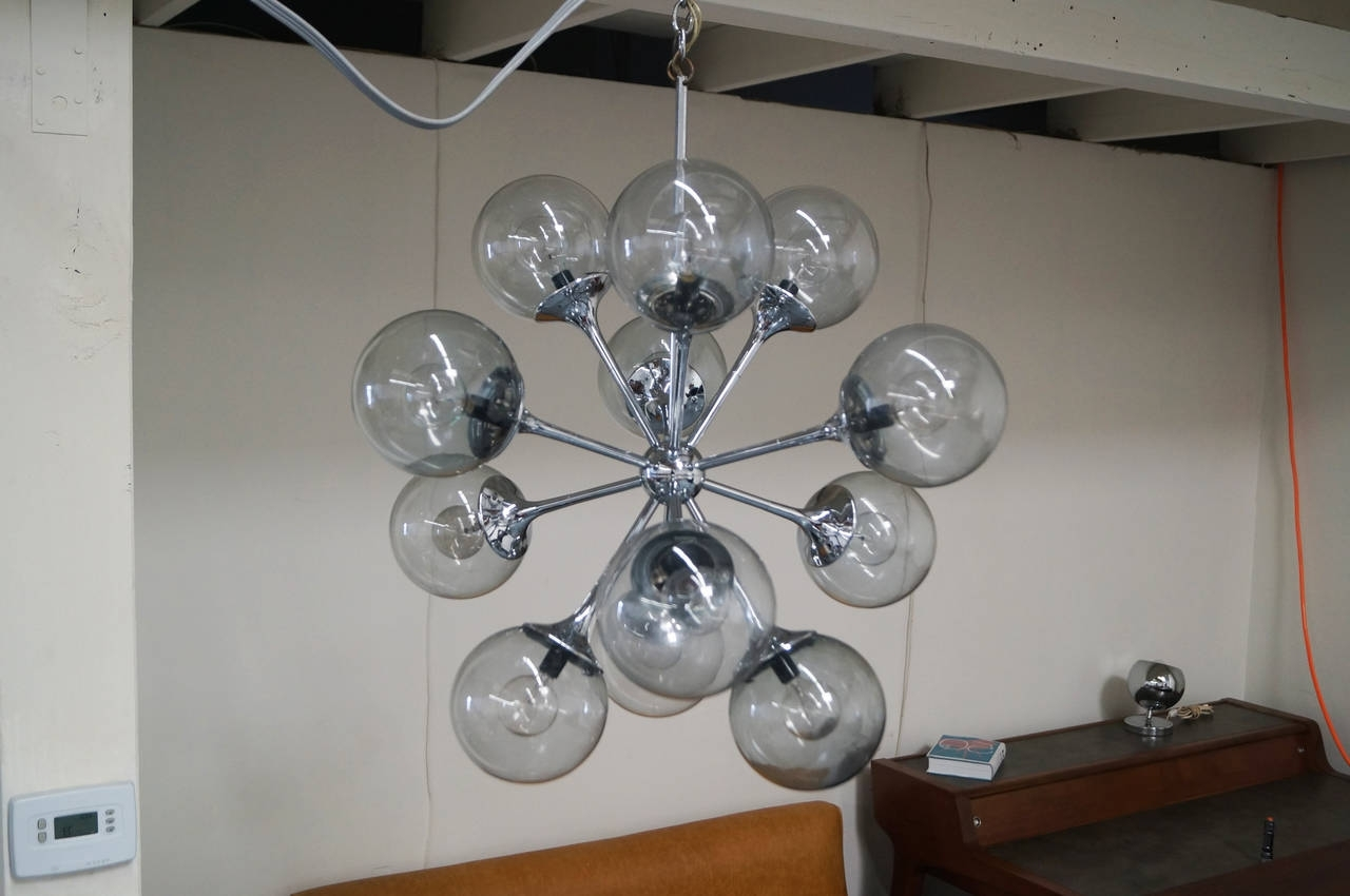 Most Popular Vintage Chrome Sputnik Chandelier At 1Stdibs In Chrome Sputnik Chandeliers (View 9 of 15)