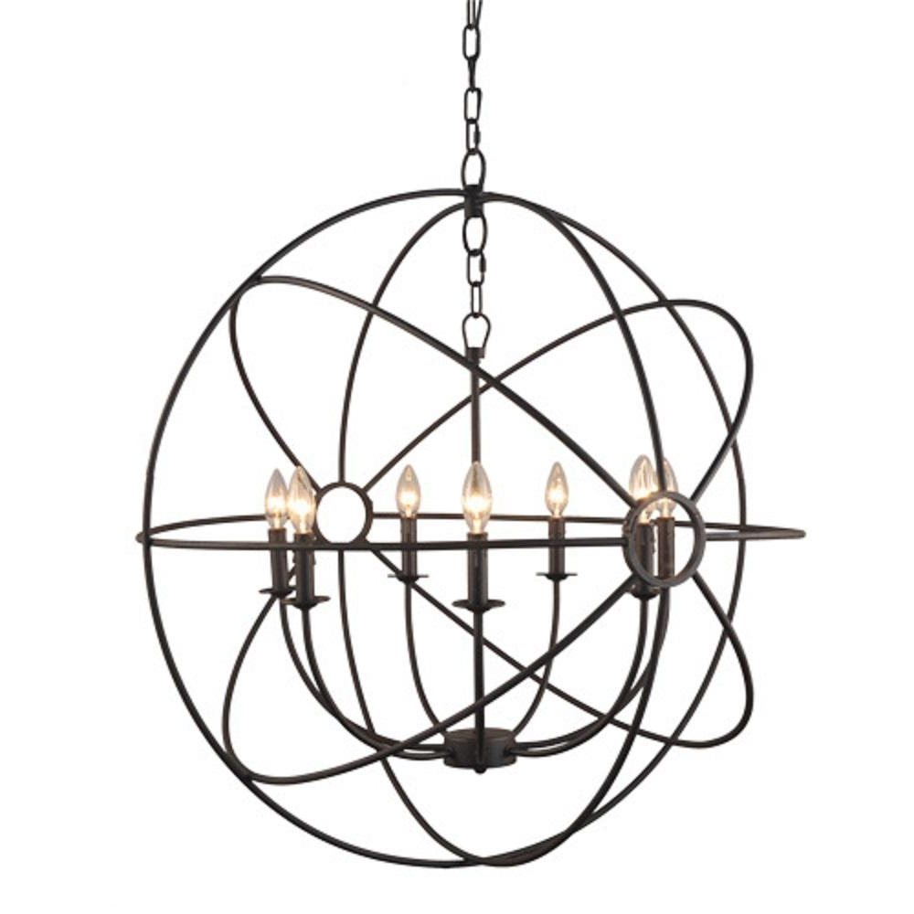 Most Recent 7 Light Chandeliers With Regard To Y Decor Infinity 7 Light Rustic Bronze Mini Chandelier Lz2005 7 Rs (View 12 of 15)