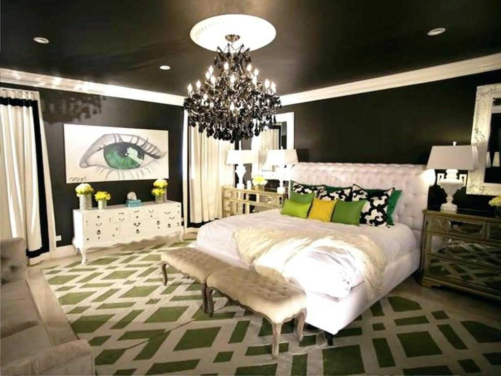 Most Recent Black Chandelier Bedroom Inside Chandeliers Mini Black Bedroom Collection And Outstanding Small (Gallery 4 of 15)