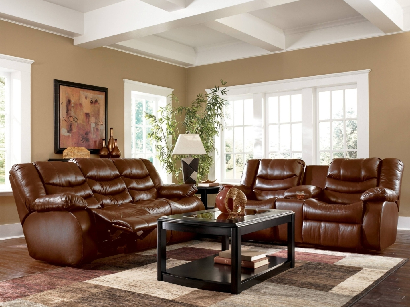 Most Recent Brown Sofa Chairs For Alluring Living Room Colors For Brown Couch Chairs White Shelves (View 10 of 15)