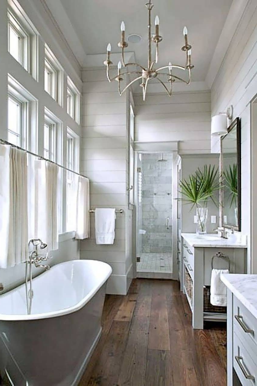 Most Recent Chandeliers Design : Awesome Master Bathroom Chandelier Lighting Throughout Bathroom Safe Chandeliers (View 14 of 15)