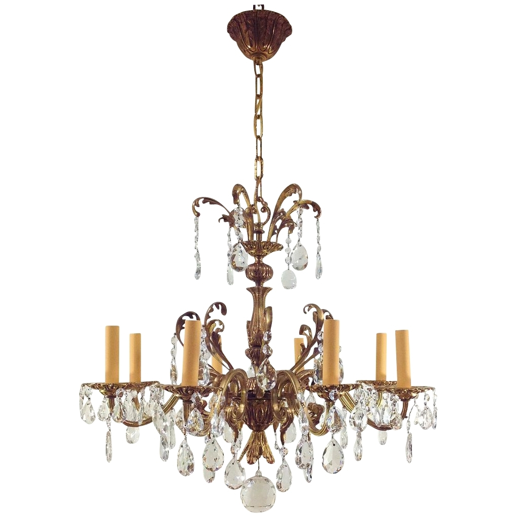 Most Recent Chandeliers Vintage With Victorian Antique Crystal Chandeliers Pictures To Pin On Pinterest (View 9 of 15)