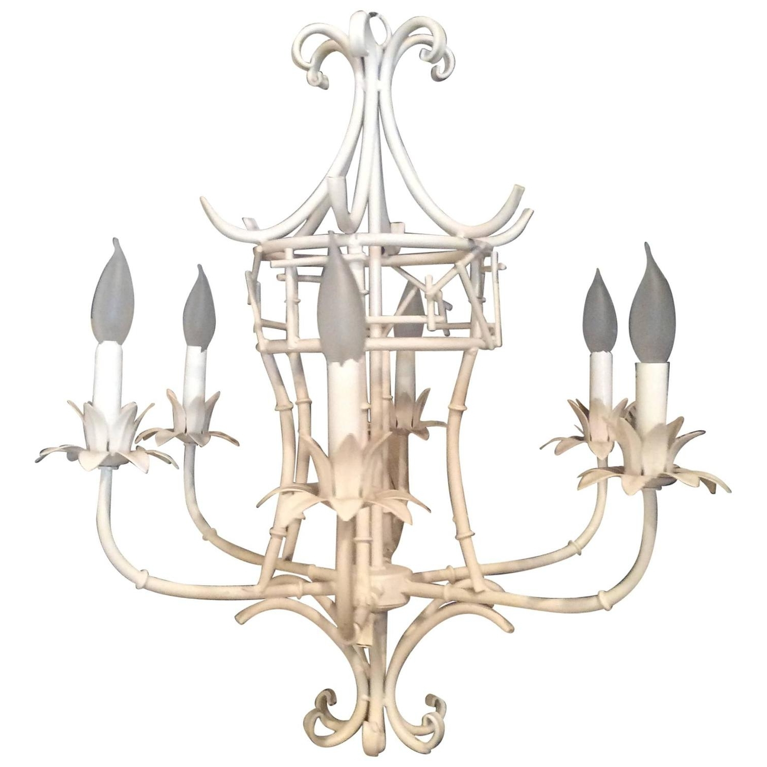 Most Recent Chinese Chandeliers Inside Pagoda Chandeliers – 69 For Sale On 1Stdibs (View 9 of 15)