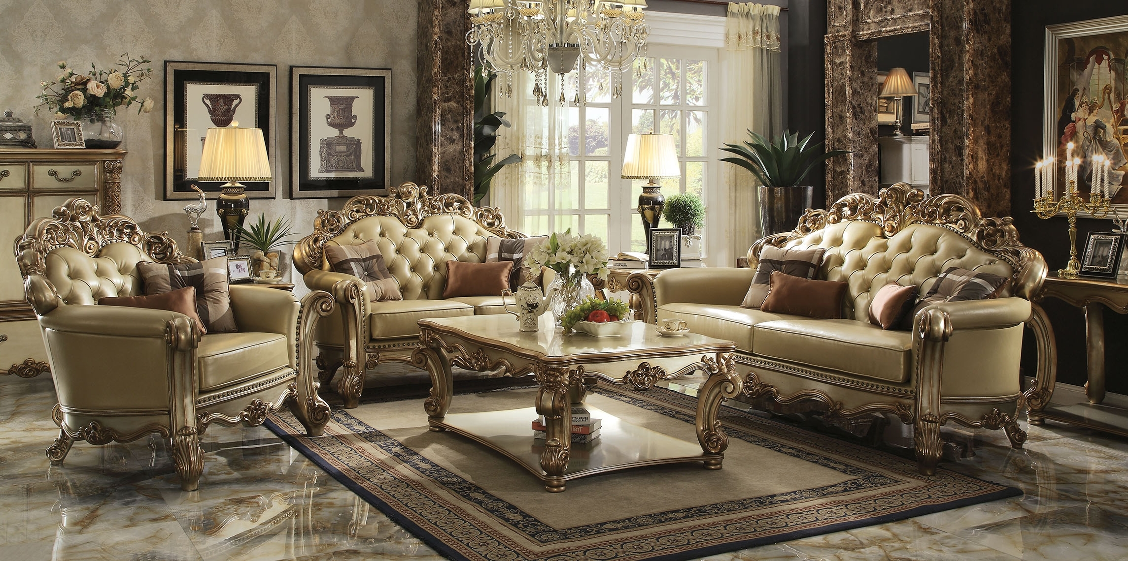 Most Recent Classic Sofa Set (View 9 of 15)