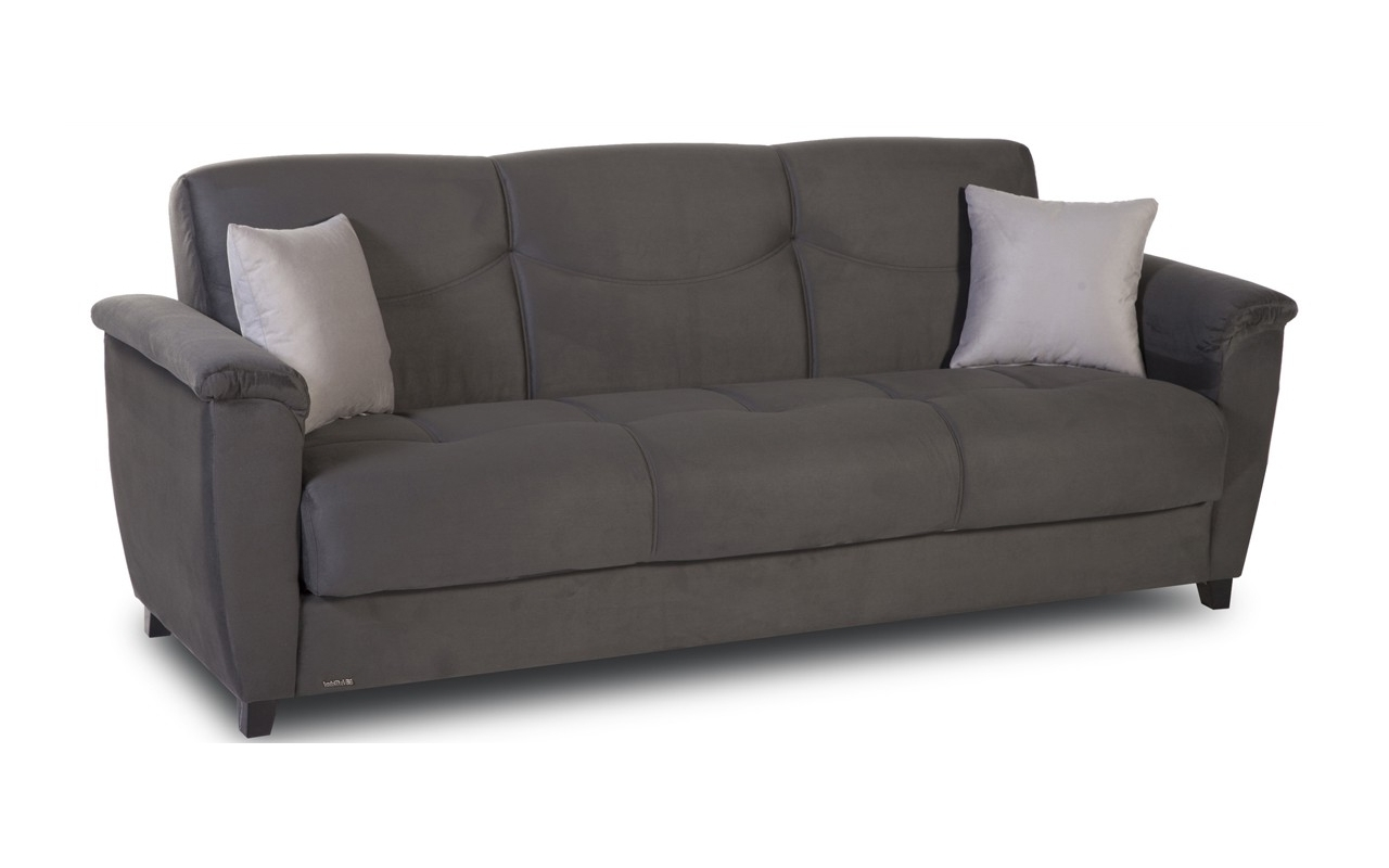 Most Recent Convertible Sofas :: Aspen Convertible Sofa With Storage Regarding Convertible Sofas (View 5 of 15)