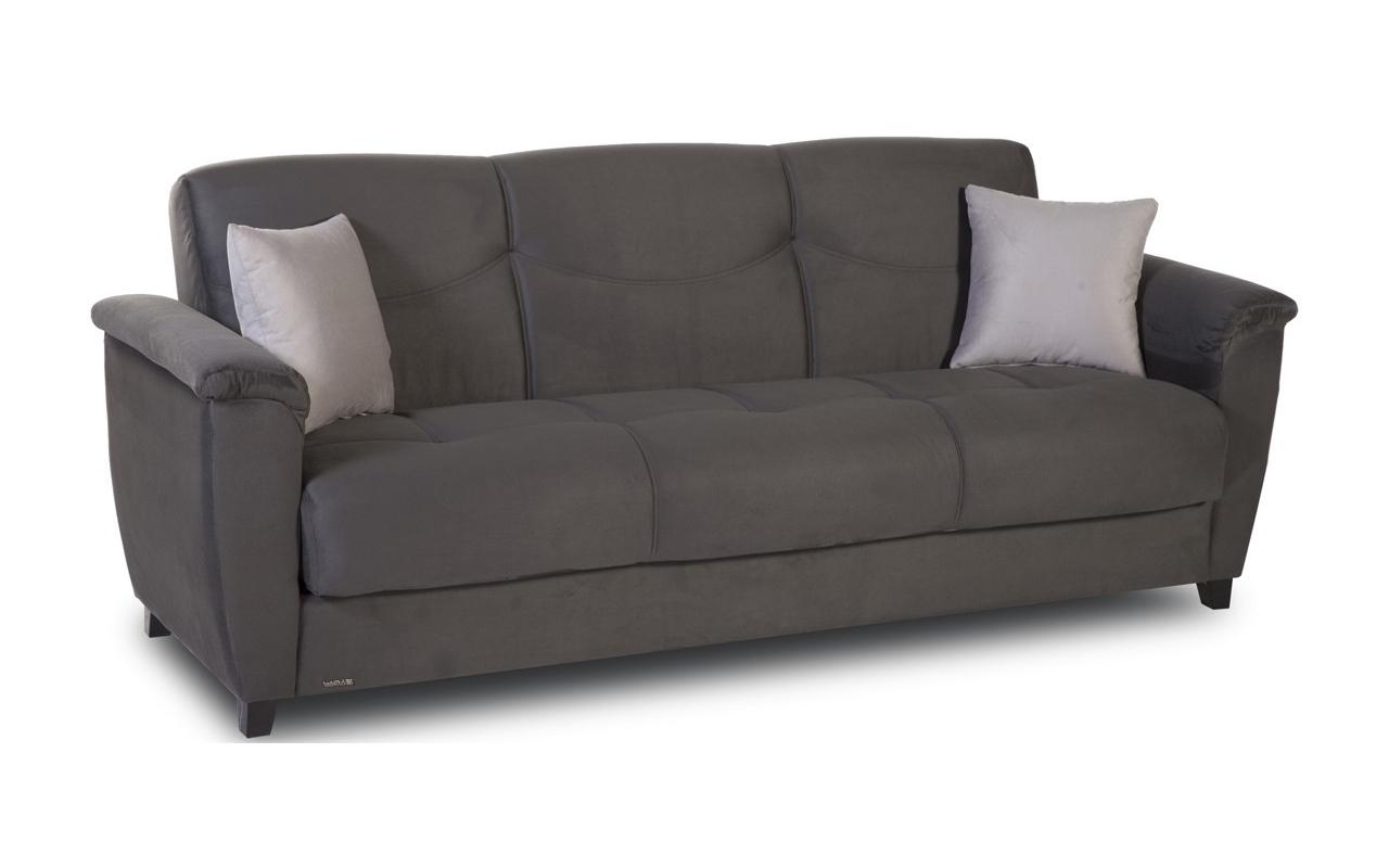 Most Recent Convertible Sofas :: Aspen Convertible Sofa With Storage Regarding Convertible Sofas (View 11 of 15)