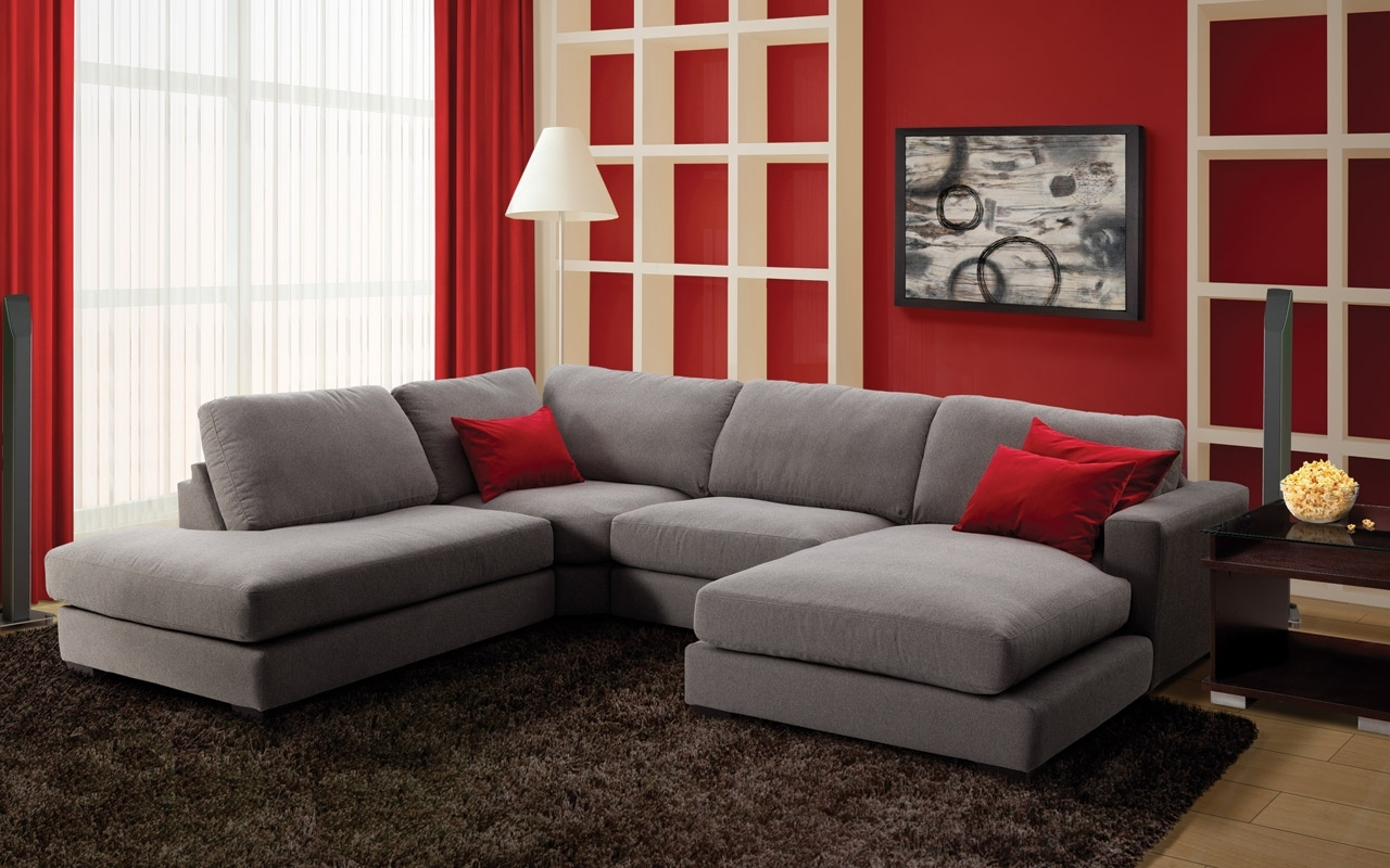 Most Recent Danielle Upholstery 3 Pc. Sectional – Leon's (View 4 of 15)