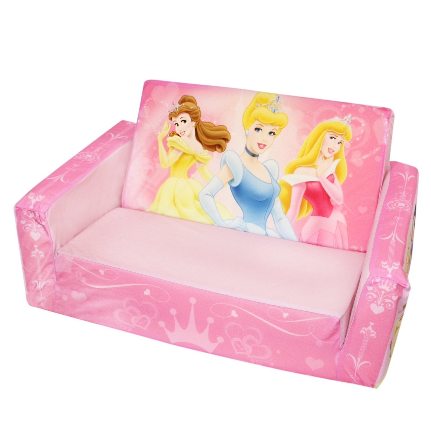 Most Recent Disney Sofa Chairs Pertaining To Disney Princess Fold Out Couch — Randy Gregory Design : Fold Out (View 10 of 15)