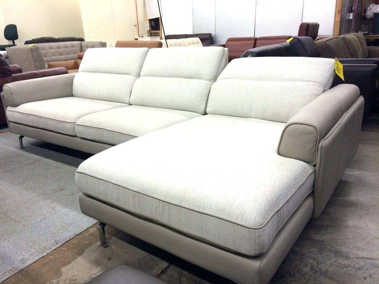 Most Recent Double Chaise Sectional Sofas In Chaise : Wide Chaise Sofa Sectional Extra Wide Chaise Sofa (View 11 of 15)