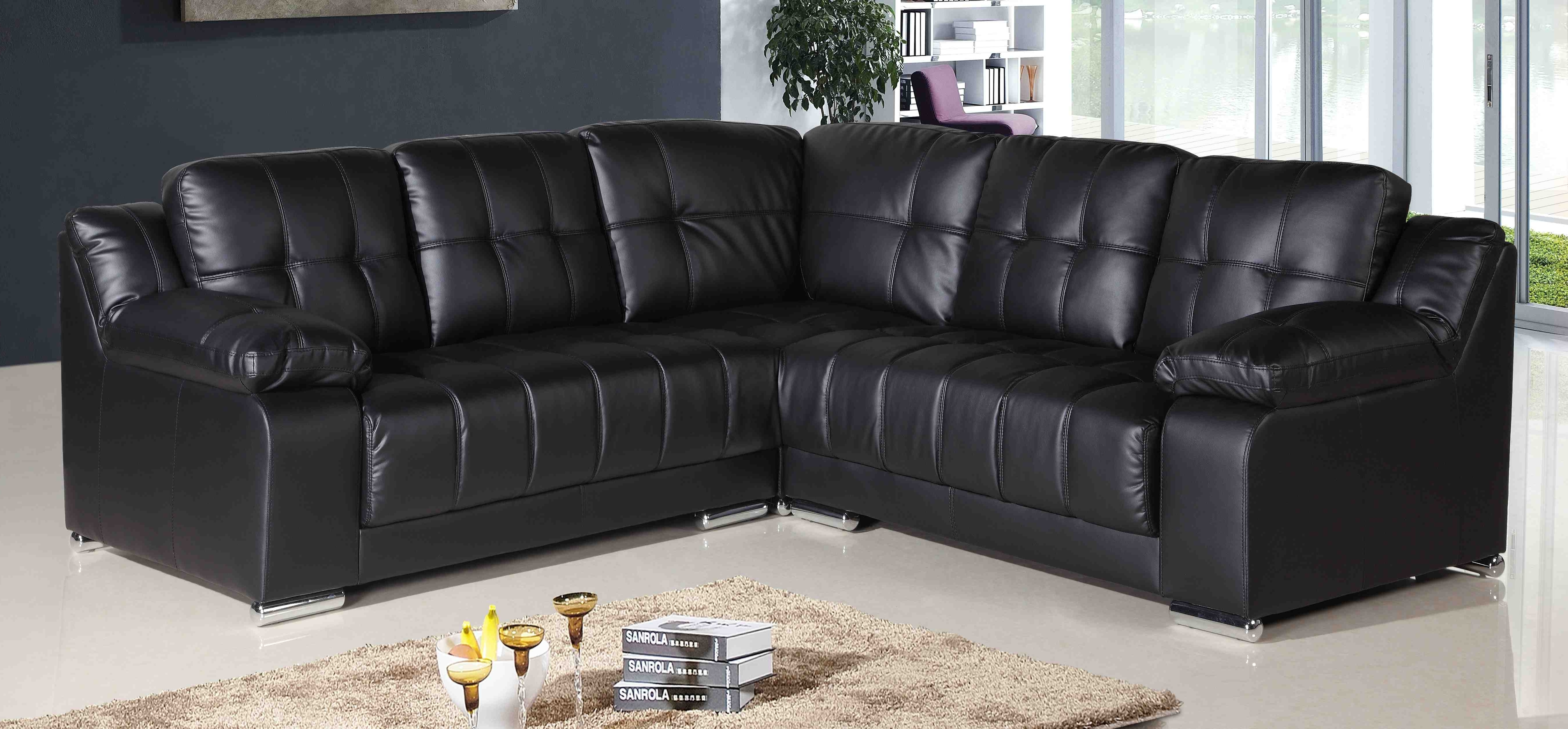 Most Recent Extra Long Leather Corner Sofas • Leather Sofa With Leather Corner Sofas (View 4 of 15)