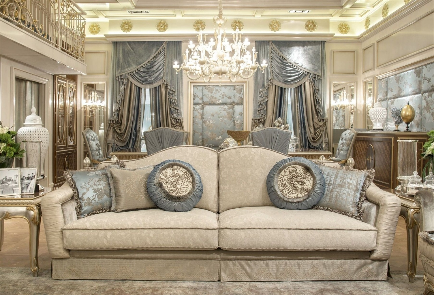 Most Recent Fine Fabrics Highlight This Extraordinary Hand Made Luxury Sofa (View 3 of 15)