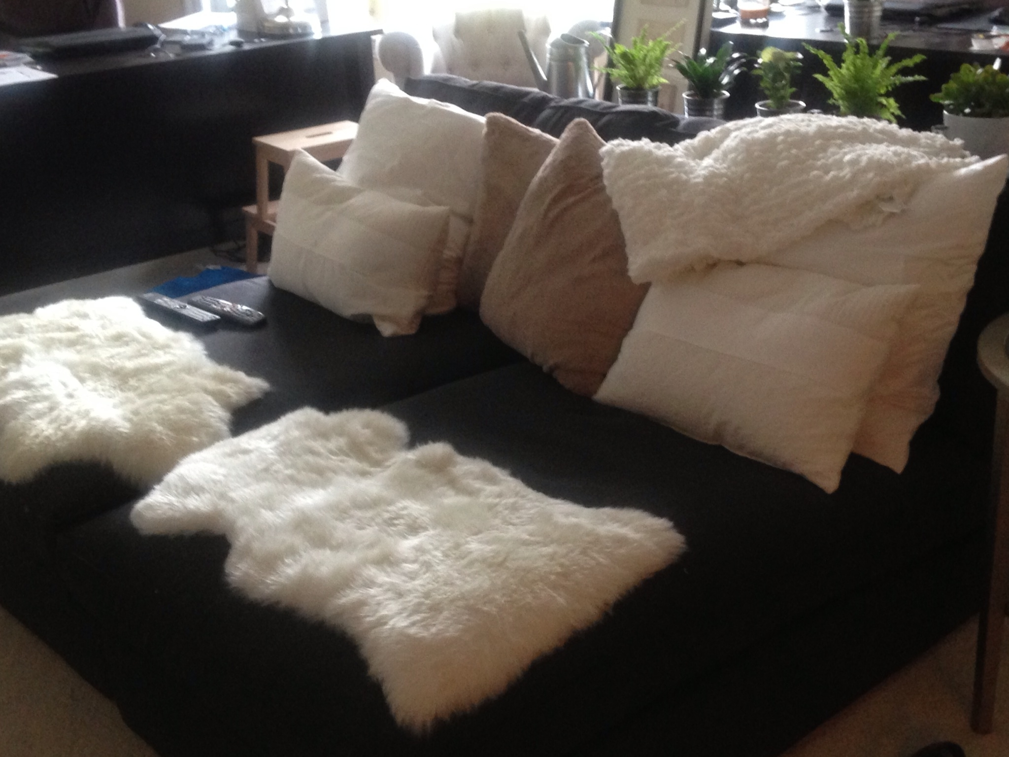 Most Recent Kivik Chaises Pertaining To 2 Kivik Chaises From Ikea + Lots Of Soft Fluffy Things = Tv (View 8 of 15)