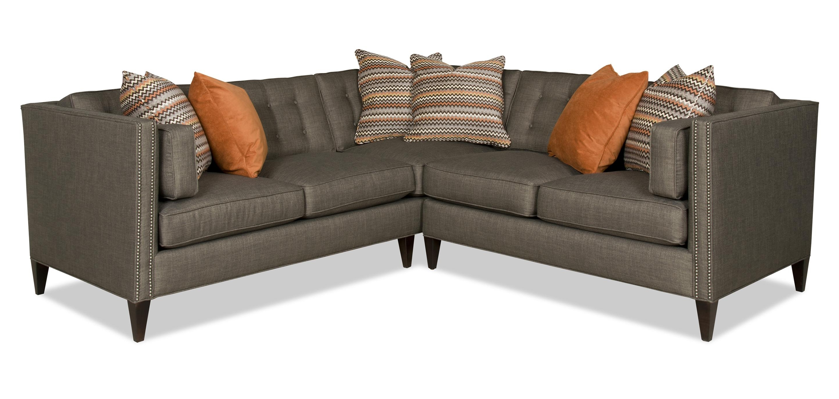Most Recent Sam Moore Eaton Contemporary Two Piece Sectional Sofa With Intended For Visalia Ca Sectional Sofas (View 10 of 15)