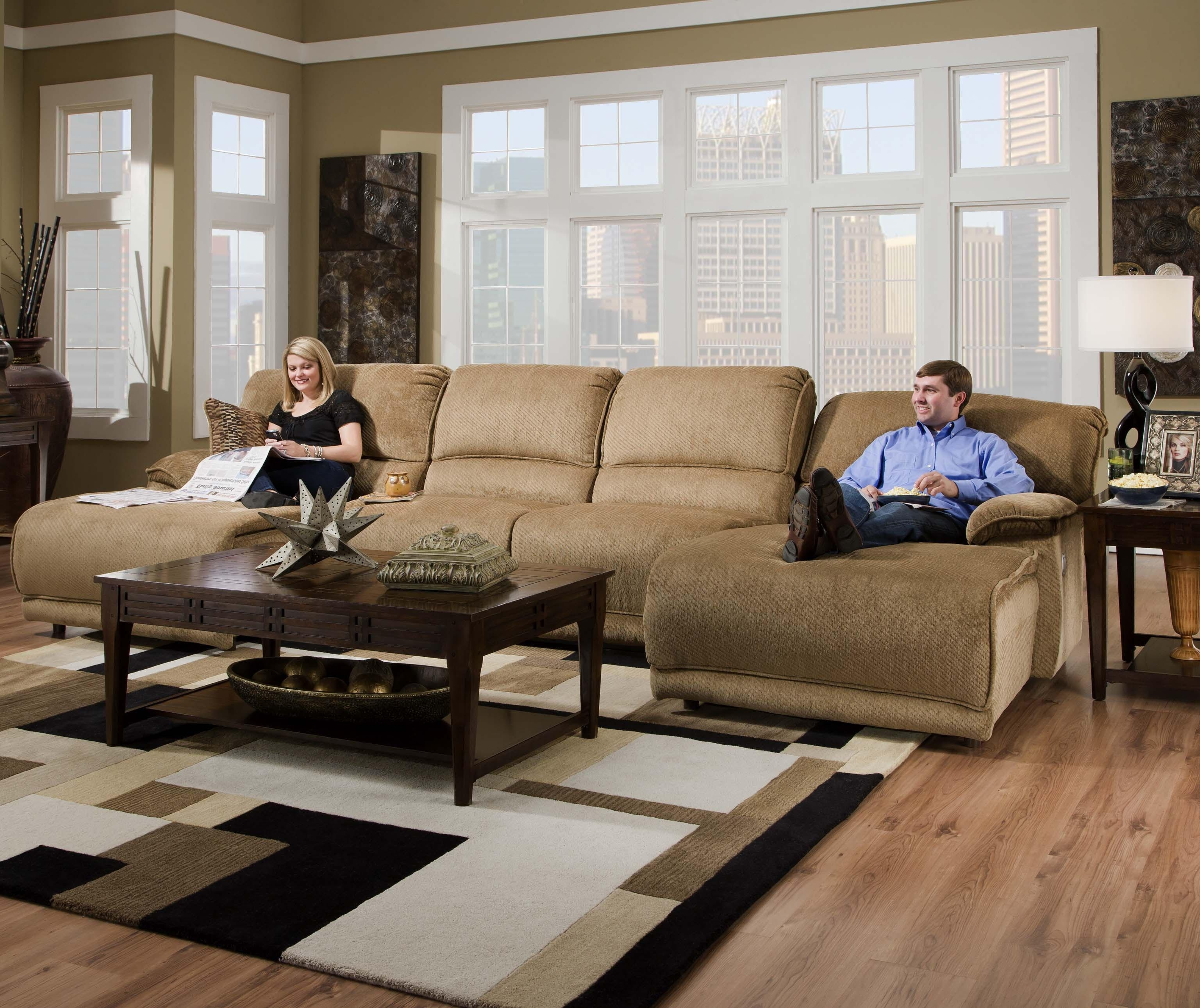 Most Recent Sectionals With Chaise And Recliner In Reclining Sectional Sofas For Small Spaces Cheap Living Room Sets (View 5 of 15)