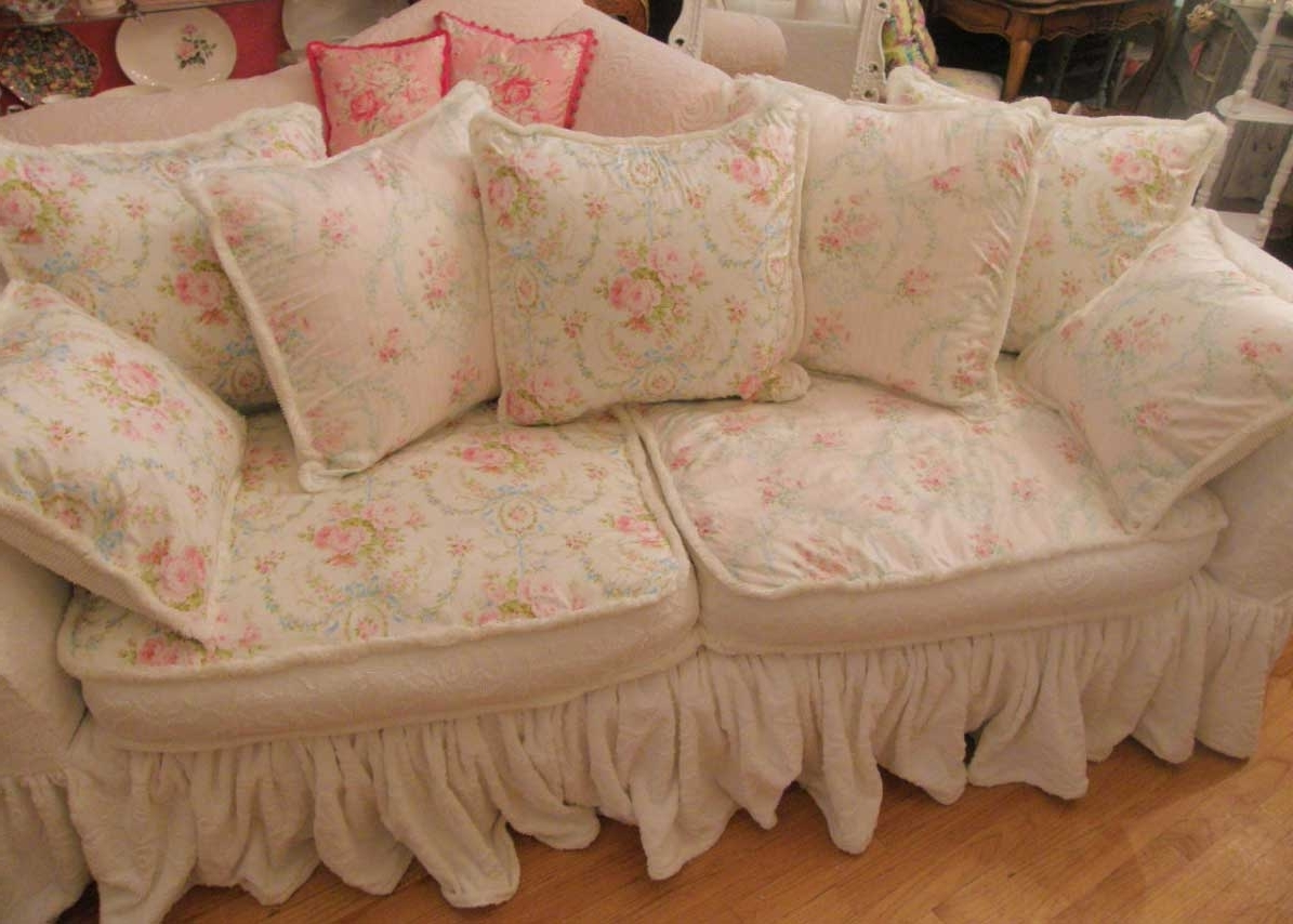 Most Recent Shabby Chic Sofas Inside Shabby Chic Sofa Bed 14 With Shabby Chic Sofa Bed – Fjellkjeden (View 6 of 15)