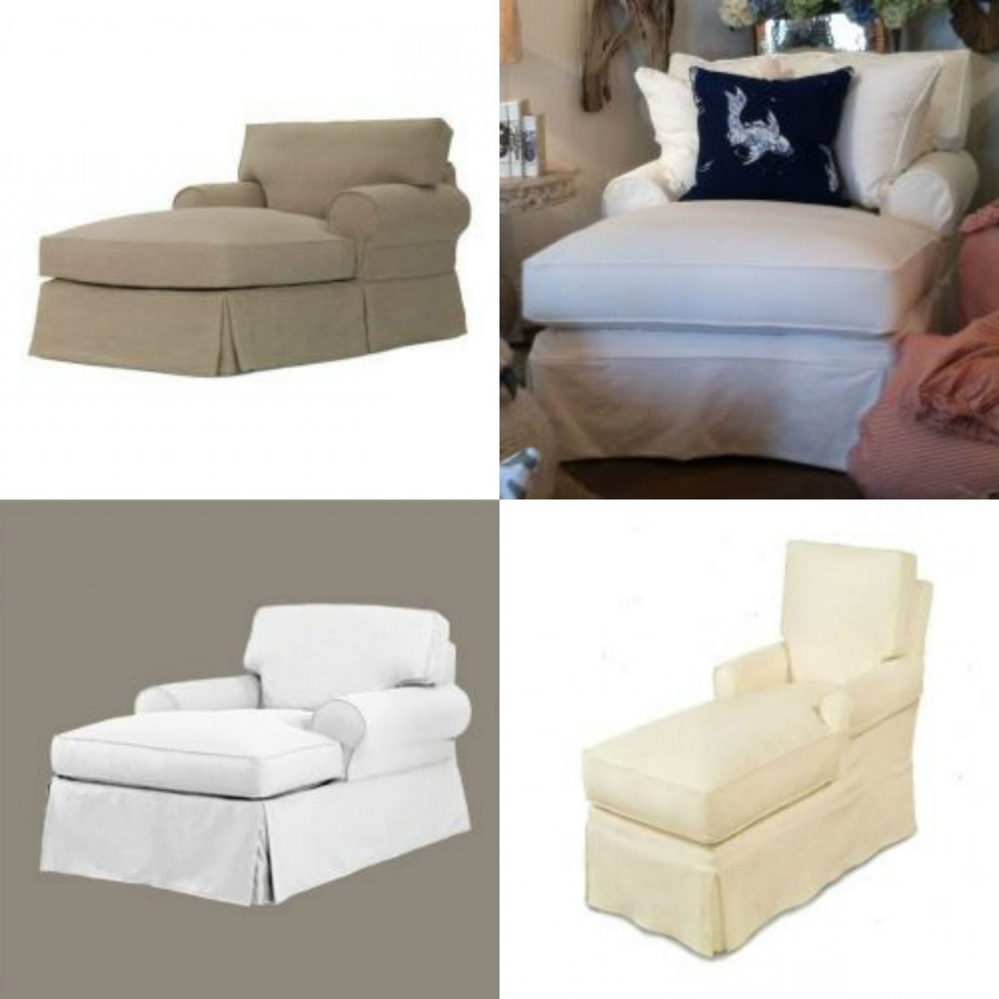 Most Recent Slipcovers For Chaise Lounge Pertaining To Slipcovers For Chaise Lounge Sofa (View 8 of 15)