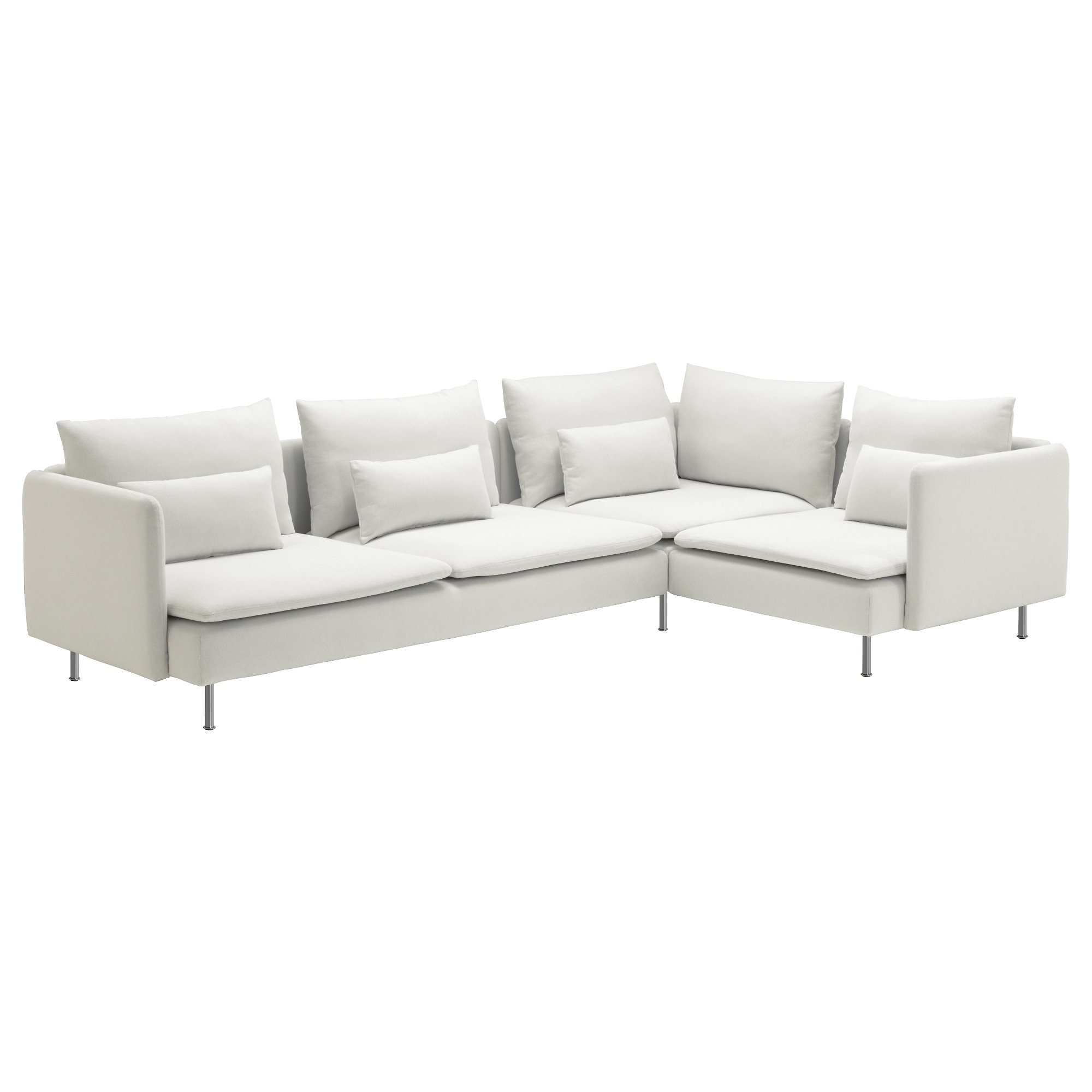 Most Recent Söderhamn Sectional, 4 Seat Corner – Samsta Light Pink – Ikea For 4 Seat Sofas (View 9 of 15)