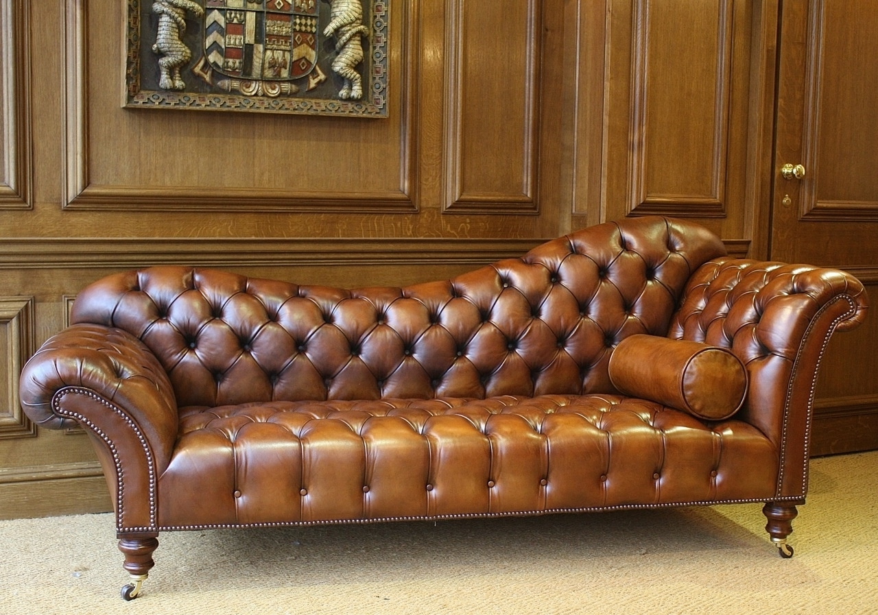 Most Recent Sofa: Leather Sofa With Chaise Lounge (View 6 of 15)