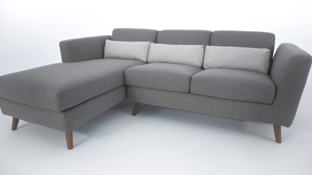 Most Recent Structube Sectional Sofas Within The Taylor Sectional Sofa – Structube On Vimeo (View 7 of 15)